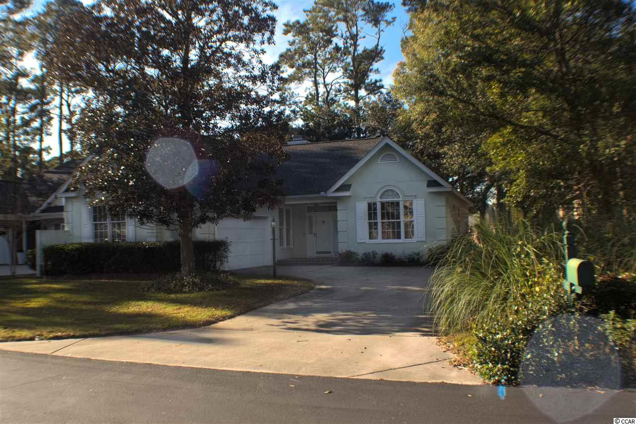 House conveniently situated 364 Dornoch Drive in Heritage Plantation with Golf, Beach, Free Dock access to waterway plus Residents club house with Amenities.     Heritage Plantation is a Secluded and Prestigious community in Pawleys Island covered by its tall and timely trees with Spanish mose, feels like going back in time. Drive around the subdivision by itself will instantly take your breath away.