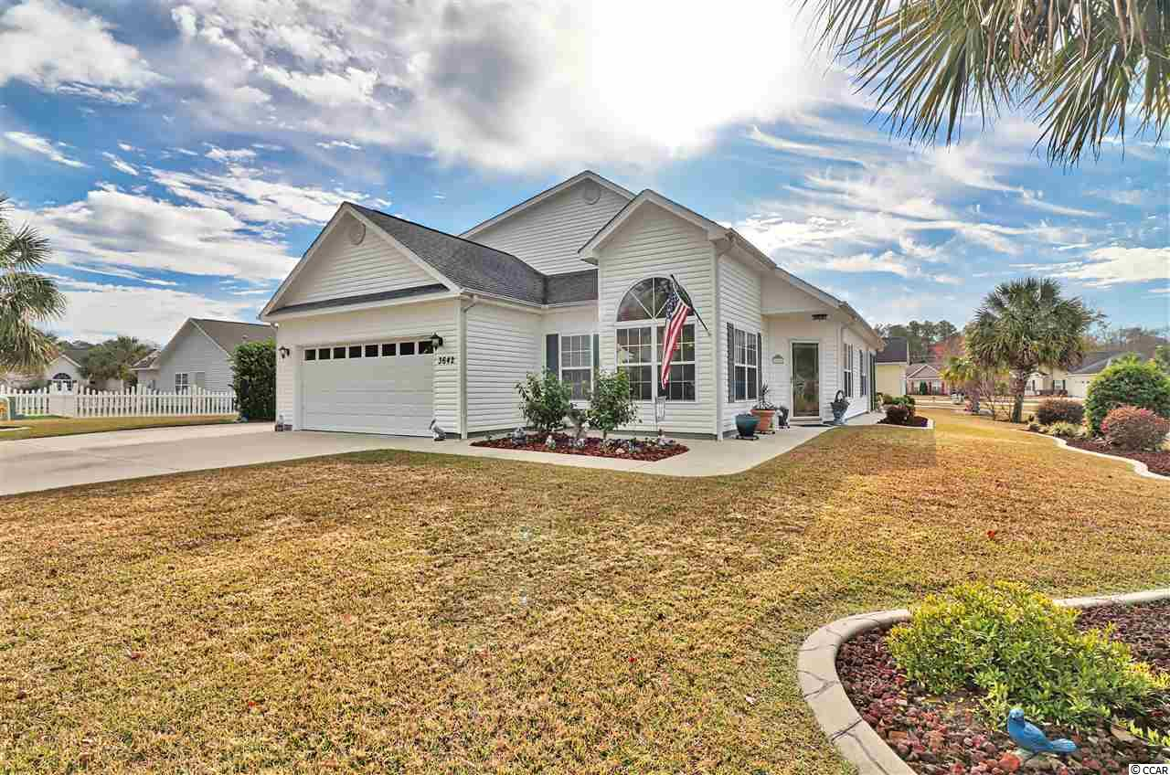 This beautiful 5br/3ba home with low hoa fees(only 200 yr) and low maintenance offers approximately 2300-2400 heated square feet and is located in the Grove Brook Community in Little River. From the moment you walk in the front door, you will be greeted with cathedral ceilings giving you an open feeling, no carpet anywhere in the house, new waterproof wood laminate floors throughout the entire home(except the kitchen and baths), and the master bedroom and two additional bedrooms on the firstfloor.  This home has only had one owner, and has been well cared for.  As you make your way into the large kitchen, you are greeted with plenty of natural light, granite counters, tons of cabinet space, a walk-in pantry, and a spacious breakfast nook. The living/family room offers high ceilings and plenty of room for your entire familyto spread out. The private first floor master bedroom includes a walk-in closet and an additional closet and double sinks in the master bath. If you have family or guests that prefer to be on the first floor when visiting, there are two additional bedrooms and a full bath on the main level. If you have guests or family that prefer to be upstairs, there are two additional bedrooms with a Jack and Jill bath upstairs. After a day at the beach or golfing, you and your family can come home and enjoy the spacious easy breeze enclosed porch for enjoying beautiful Carolina afternoons and evenings. Do you need storage??? You absolutely will not find a home with a true walk-in storage with easy access like you will find in this home. There is no need to ever worry again about the safety of walking up and down the pull down ladder of a pull down attic in the garage. This is truly one of the best storage rooms you will find anywhere at the beach.  The Grove Brook community is located super close to all of the conveniences the Grand Strand has to offer, but is quietly tucked away for easy care free living.  Hwy 17 and 31 are only a few short miles away.  This g