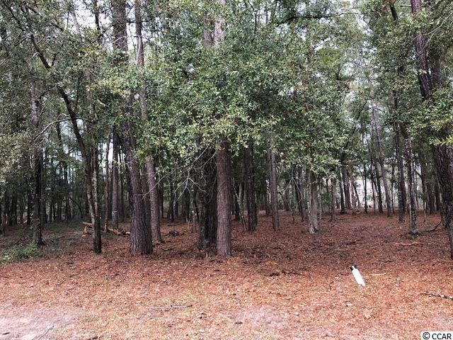Nearly 1 ACRE lot in the desirable gated community of Tidewater Plantation.  Private wooded lot where you can build your dream home.  Lot is located in a cul-de-sac on Morrall Drive, if facing homes from the Street will be to left of 942 Morrall.  Tidewater offers many amenities for residents including but not limited to pools, tennis courts, golf course, golf pro shop, restaurant, club house.  Homeowners also have the use of an oceanfront beach cabana.  Tidewater Plantation is conveniently located to shopping, golf, entertainment, and all area attractions.