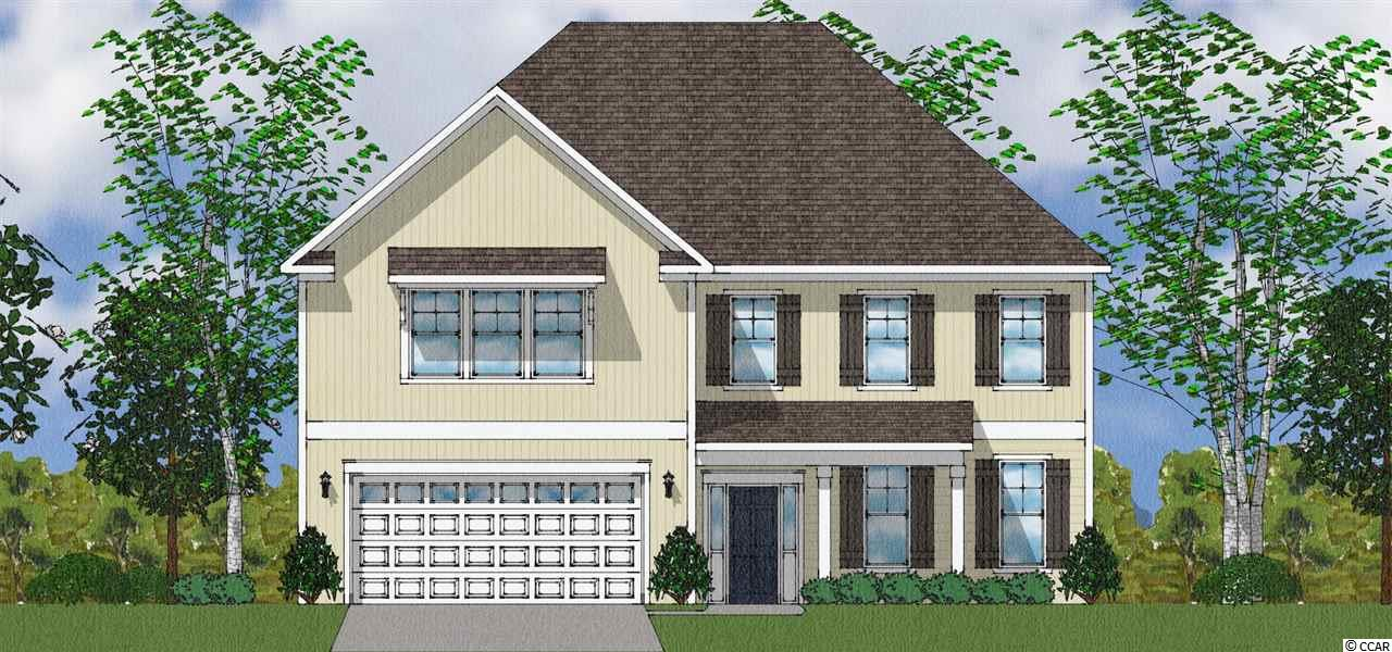 To Be Built - Webster Plan - Model Home open every day! Mon-Tues 11-5, Wed 1-5, Thurs-Sat 11-5 & Sunday 1-5. Two-Story home with standard A elevation has a desirable hip roof and front porch as you approach. Inside, you'll find 4 bedrooms and 3.5 baths. This Home offers a flex room that can be selected as either an office with french doors or a formal dining room with optional coffered ceiling. Further into the home, you'll see the spacious kitchen with an abundant amount of counter and cabinet space and generous walk in pantry! You may elect to add the Drop Zone Cabinetry option in the Family Entry area off of the garage. In the kitchen, you may want to add the Gourmet Kitchen cook-top double oven/microwave option, a ceramic tile back splash, some under-cabinet lighting and a waste basket cabinet in addition to some roll-out under cabinet drawers. You can design this kitchen with many custom and gourmet kitchen features as you please!! The cabinets come included with staggered heights and crown molding to have a custom look and the counter tops are granite in the kitchen as well as matching the stainless steel appliances are all also included. There is also a casual dining area adjacent to the kitchen and the great room. The great room is offered with a fireplace and coffered ceiling options as well! The Eat in area walks out to an optional covered rear porch for enjoying the outdoors or an enclosed sun room. Behind the kitchen is a guest bedroom and a full bath. A guest powder room is in the front hall area. The laundry, Loft, Owner's Suite, 2 additional bedrooms and 2 baths are all conveniently located upstairs. Need 5 or EVEN 6 bedrooms? Then you can choose to build the Alternate 2nd  floor with 4 Bedrooms and a 3rd full bath with Bonus Family room upstairs! The bonus room can also be built as a 5th bedroom upstairs giving the home a total of 6 Bedrooms!!! The large master suite has a luxurious bathroom and spacious, separate his and hers closets. The laundry is close to all of the closets to enable quick putting away of clothes from the dryer before they even have time to wrinkle! Both secondary bedrooms feature nice sized walk-in closets. You may choose to add a second floor front porch if you enjoy a view of the amazing South Carolina sunsets and lake or wooded views. You deserve this home! Various options available included and additional cost. Home site premiums may apply. See sales representative for additional details.