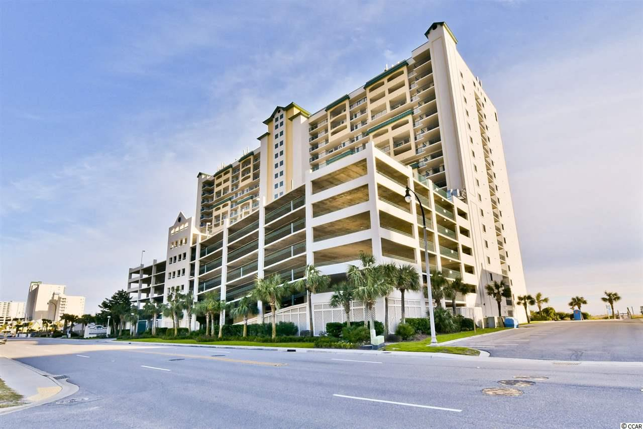 Spectacular oceanfront condo close to Main Street in North Myrtle Beach. Year round activities nearby and the upscale atmosphere that are consistant with Ocean Bay Club make this a favorite of many locals and vacationers alike. Owner allowed pet and motorcycle. Fully furnished spacious condo facing the ocean with free standing working fireplace. New elevators on property and new in 2018 HVAC in unit. Full size washer/dryer. This unit has an entry that is inside, not outside and is near the parking garage. Split floor plan with master off living room allows for privacy with guests. Balcony views off master and through open kitchen/dining and living room. Low maintenance and move-in ready makes this North Myrtle Beach Oceanfront Condo an affordable luxury that will bring many new memories at the beach that is also your backyard!  New installed Luxury Vinyl Plank Flooring, waterproof and scratch resistant, and new glass window doors and premium caster rollers along oceanside in front room and bedroom for spectacular view makes this a GREAT value! Move-In Ready! Owner Allowed Golf Cart & Pet!