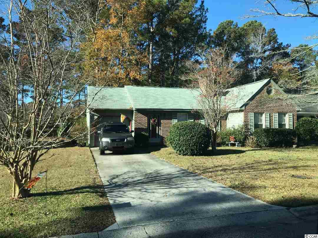 Woodlake  is  a 55 +community with above average amenties and very low HOA.  The home is in excellent shape on a wooded lot overlooking a shaded wooded and grass area.  Perfect for a retirement couple Owner is a licensed SC agent