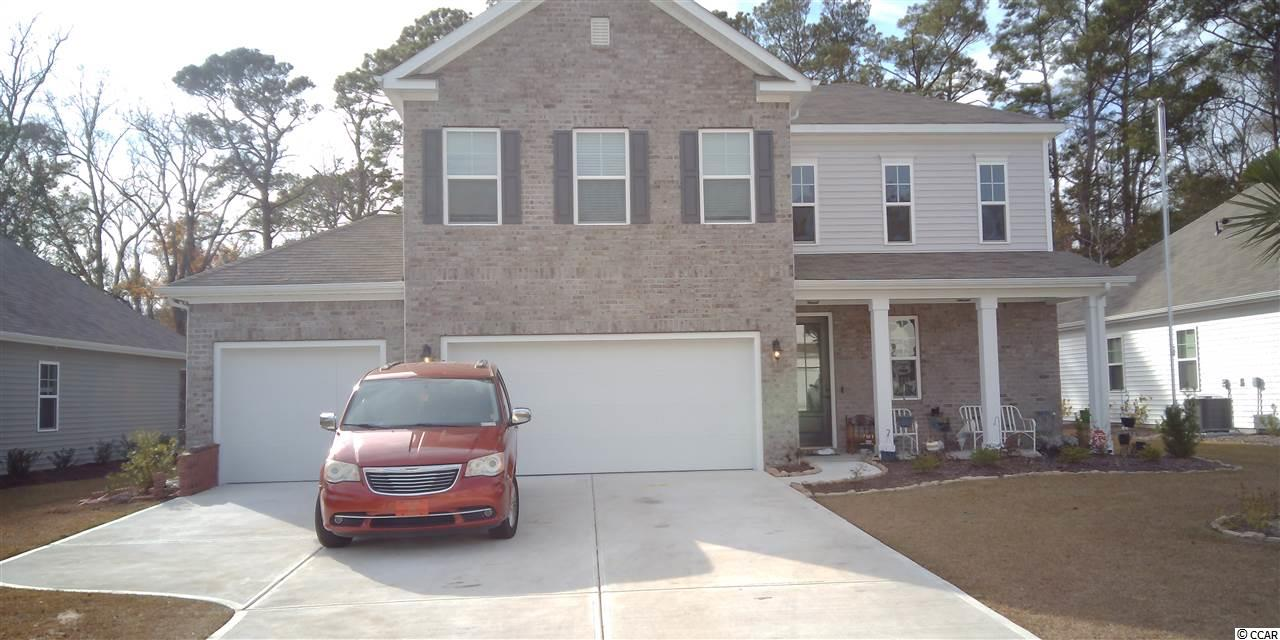 Come see this low maintenance,  gated neighborhood. This home has 4 bedrooms, 2.5 baths, Extended Owners Suite, Screened Porch, Upstairs Loft with rare 3rd car garage. Open concept floor plan. Kitchen features upgraded shaker style cabinets, granite countertops, recessed and pendant lighting,  and Frigidaire gallery stainless steel appliances. Lawn Maintenance is included in the HOA. Square footages are approximate.