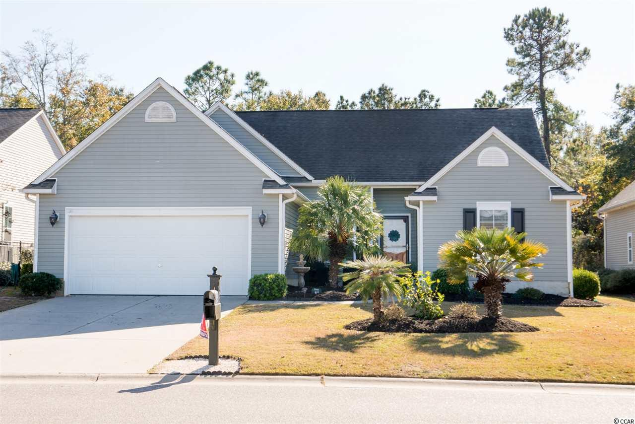 """Come take a look at this move-in ready 3 bedroom, 2 bathroom single family home in the Linksbrook neighborhood of Prince Creek in Murrells Inlet. From the first step through the front door, you will notice the open floor plan and many windows allowing a great amount of light in the home. Other features of the home include all stainless steel appliances in the kitchen (the white dishwasher shown in the pictures has been replaced with a stainless steel dishwasher), a split bedroom floor plan, a separate dining room and plenty of outside space including a shaded front porch with room for a table and back patio. This home also features a large (12'9""""x14'1"""") Carolina Room with a vaulted ceiling that leads to the backyard. The front yard is accented with mature landscaping."""