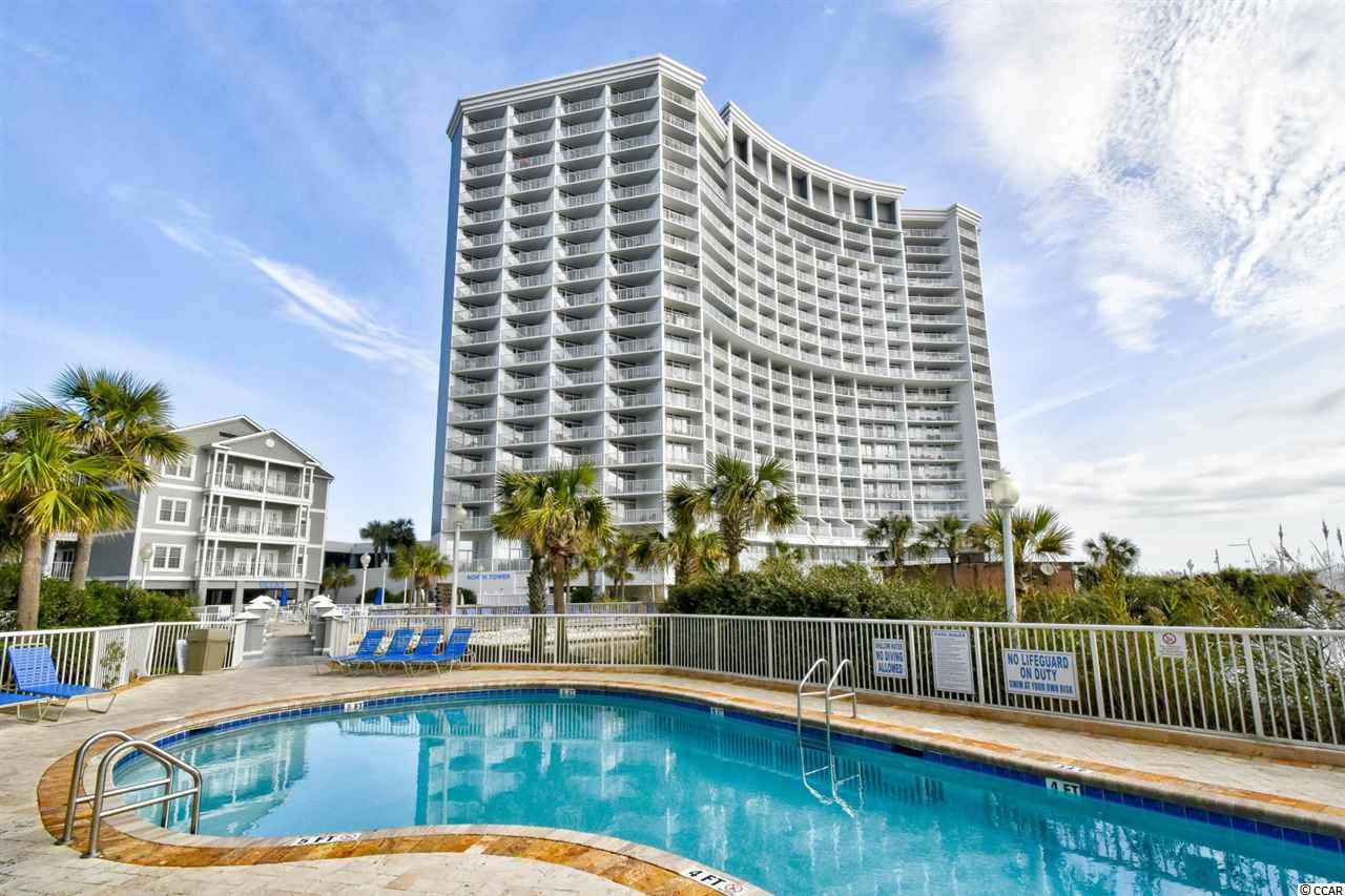 Welcome to this 1 bedroom, 1 bathroom oceanfront condo Seawatch's North Tower in Myrtle Beach. This unit features an open floor plan of the main living areas, with a full kitchen equipped with all appliances, and dining area that seats 4. The living room features an upgraded flat screen TV, a Murphy bed for an added sleeping space, and access to your 15th floor balcony, overlooking miles and miles of the beautiful Atlantic Ocean. As you enter through the bedroom, you'll notice it includes plenty of closet space, and an updated TV. Seawatch Resort offers the best amenities including indoor and outdoor pools, lazy river, exercise room, and private beach access! Perfectly situated near all of the Grand Strand's finest dining, shopping, golf, and entertainment attractions. Whether you are looking for a second home on the beach or your next investment opportunity, you won't want to miss this! Schedule your showing today!