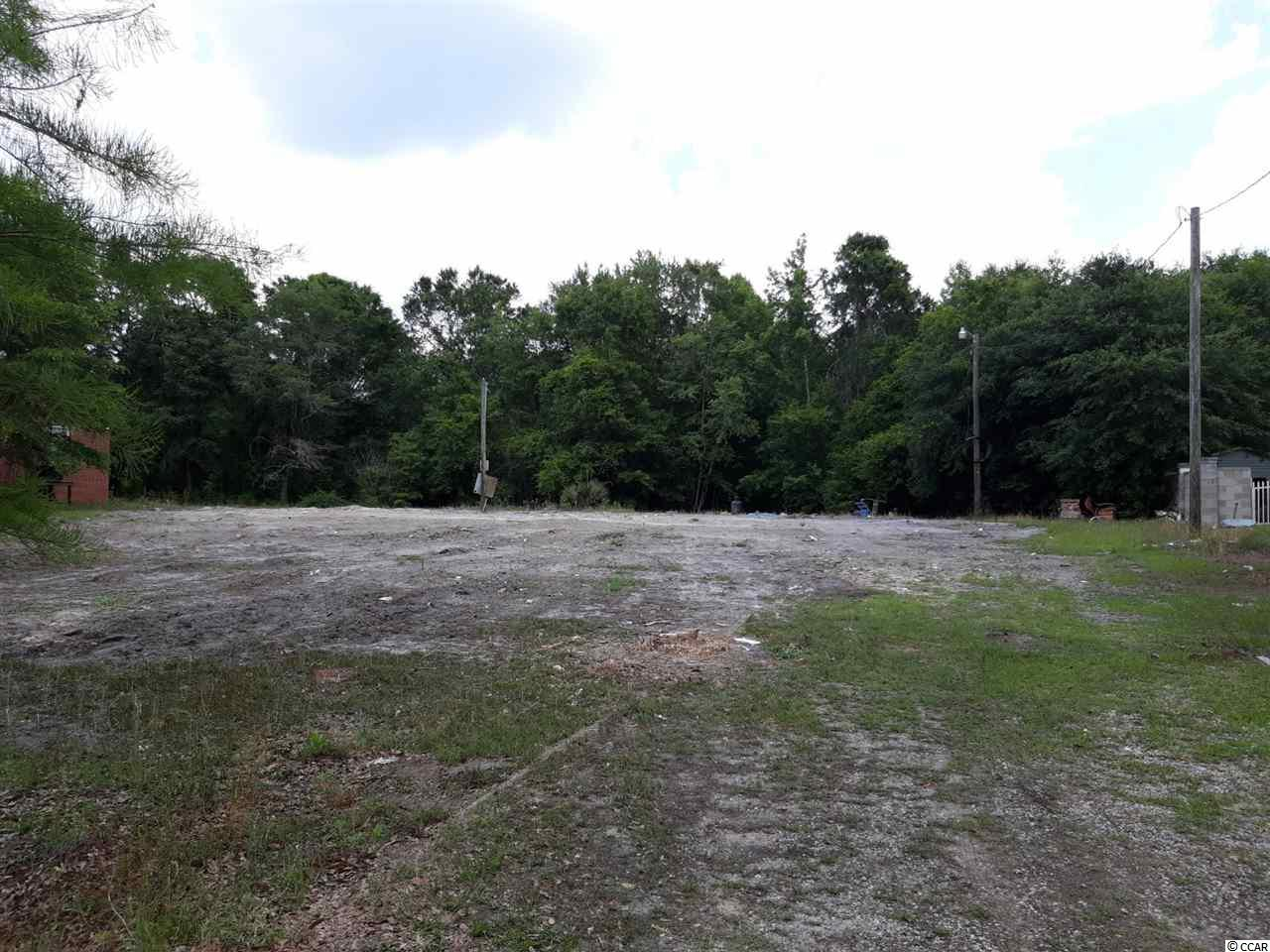 Vacant Lot. Ready to build your home or get away place. Located less than a mile from Lees Landing and on a cul-de-sac. Grand Strand Water is already on the lot. Electric on a pole at lot. Great to build, put a camper, or have as a fun weekend place to play.