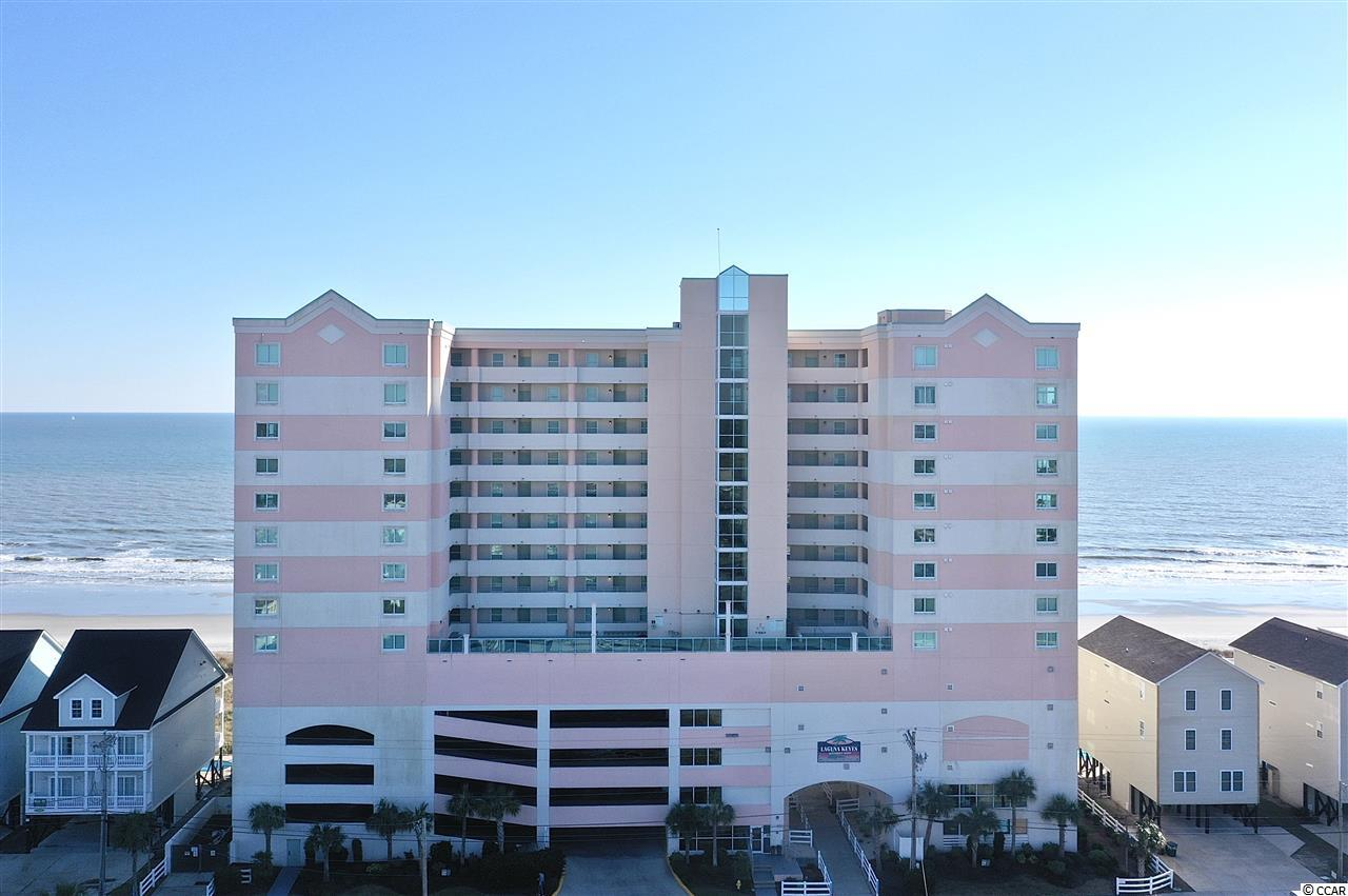 Laguna Keyes, located in Cherry Grove section of North Myrtle Beach you'll find your perfect 3 bedroom 2 bath getaway!   Unit features many updates including kitchen cabinets, granite counter tops, paint, outside AC unit and more.  Enjoy beautiful Atlantic Ocean sunrises each morning from the 26' wide balcony that includes the living room and master bedroom access, swim in the indoor/outdoor pool or simply enjoy a peaceful walk on the beach.  With almost 1300 heated sq ft of living space you'll be able to entertain guest, use as your primary residence or enjoy as a rental property.  Schedule your appointment to see this beautiful unit before it's to late!  All measurements are approximate and not guaranteed. Buyer to verify.