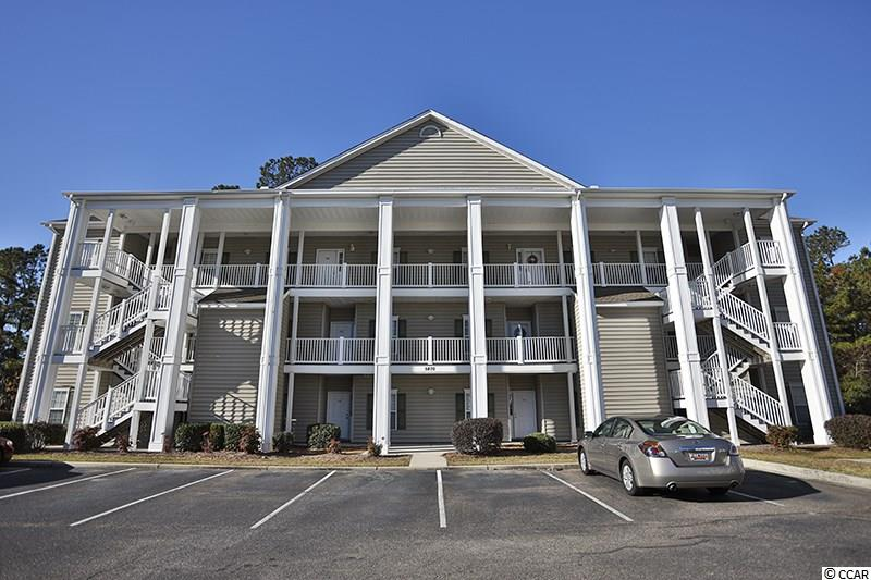"""Welcome home to this 3BR 2BA, 2nd floor, end unit condo in Marcliffe at Blackmoor Golf Course in beautiful Murrells Inlet! This unit has been recently appointed with new luxury vinyl plank floors (waterproof & stronger than laminate wood), new countertops, new microwave, and offers highly desirable interior features of a large open floor plan, true dining area, breakfast bar, lots of natural light, crown molding, wainscoting, 42"""" cabinets, laundry room, pantry, and a split bedroom plan. The very spacious Master Bedroom is secluded in the back of the condo and has a walk-in closet and a large window wall overlooking a private, wooded back yard, and the Master Bath has dual vanities, garden tub/shower combination, and linen closet. Off the great room is a huge screened porch with ceiling fan just perfect to sit, relax and enjoy the tranquility of the woods and sounds of nature. There is an outside storage room located across from the front door perfect for storing your pool and beach items. Marcliffe amenities are just a short walk away and include a large community pool, sunbathing area, club house, mailbox station, and common area ponds with fountains for visual enjoyment. Conveniently located just minutes away from the beautiful Atlantic Ocean at Surfside Beach and you will also find Publix, Lowe's Foods, several restaurants, pharmacy, medical offices, hospital; opportunities for golfing, fishing and boating, Murrells Inlet Marshwalk, Huntington State Park, and the world famous Brookgreen Gardens. This condo was enjoyed greatly as a primary residence and it could also be an excellent choice for a second home or investment property. Call today for your private showing!"""