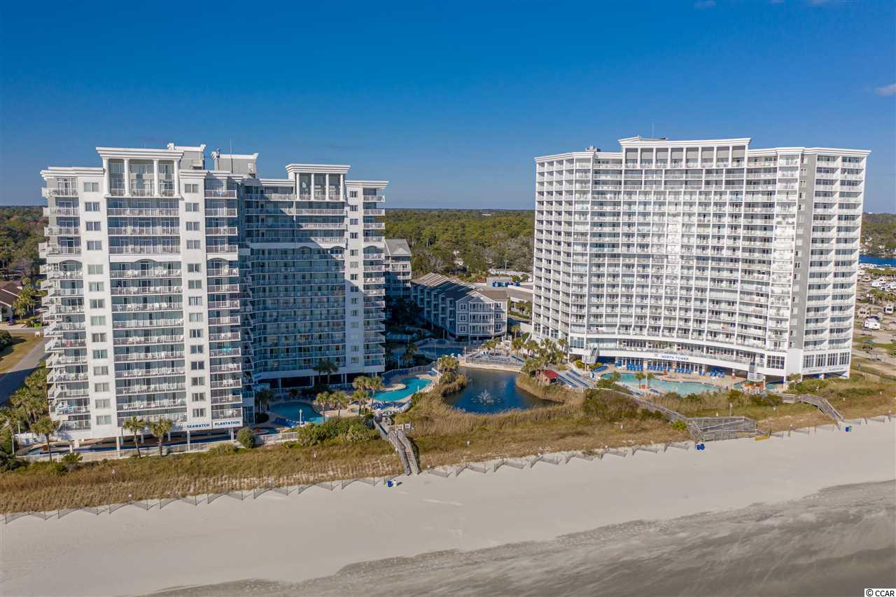 This is THE ONE! Rare unit in the beautiful SeaWatch South Tower! Direct Oceanfront Views from both Master Suites and Living Room, with balcony access from every room! Bright sunshine fills this stunning property as you gaze at the Atlantic Ocean! Don't miss the one you've been waiting for!