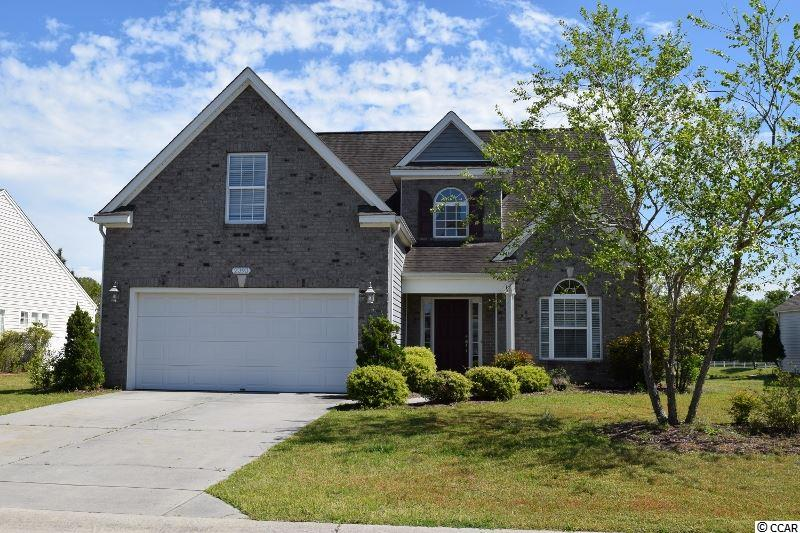 Sought after Farm community in Carolina Forest.  Great flow to the Garrett Plan with Master on main level and 3 Bedrooms upstairs, 2.5 Baths, 2 Car garage. Hardwood floors throughout main level, Tile in Baths.  Formal Dining Room flows into Kitchen with Morning Breakfast Room, Granite, Stainless, Upgraded Cabinets, Under cabinet Lighting, 2 Story Family Room. Lot backs up to Pond with fountain.    Pictures prior to tenants. Wonderful community features 2 pools, Clubhouse, Playground, Basketball court, fitness room. Walk or Bike ride to Elementary school. Convenient access to CF BLVD, Hwy 31 and International, convenient to Medical, shopping, college, sought after CF schools. All information is deemed reliable but not guaranteed. Buyer is responsible for verification. This home is within a few miles of the Beach and all Myrtle Beach attractions. Close to schools, College, Medical, shopping.