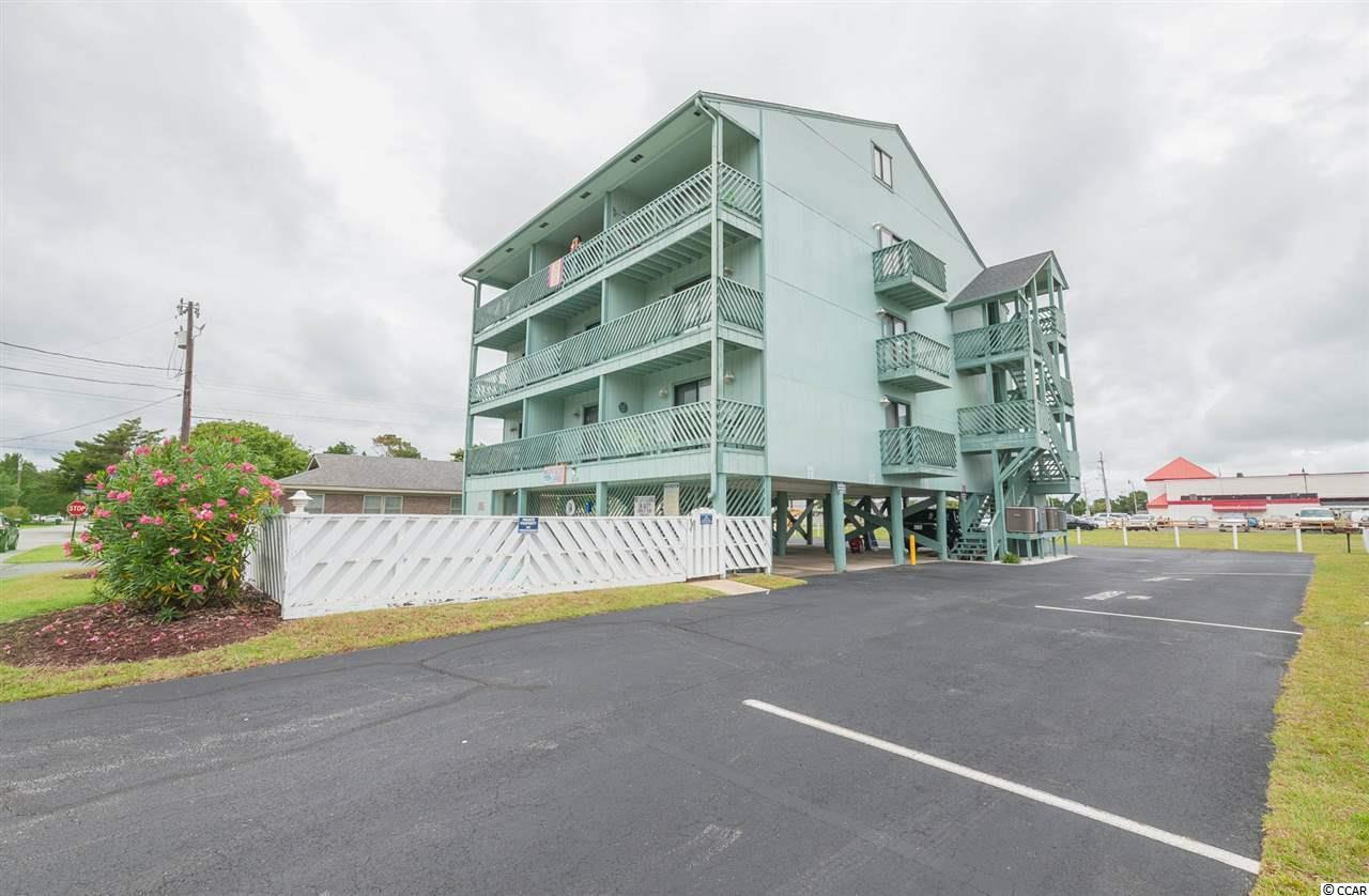 If you have been looking for an affordable, well taken care of condo right by the beach, look no further! This condo is located in the highly desirable Cherry Grove section of North Myrtle Beach. The condo is in a small, private building and is only a block from the beach! The units don't come available often in this building and you'll see why. Owners ARE allowed to have golf carts so whether you are cruising on your golf cart or enjoying a short walk to the beach, this unit is perfect for you. Would make a great second home or perfect rental property. HOA fee is reasonably low and includes a lot. For this price and being only one block to the beach, this property won't last long at all. Ask your agent about traditional financing on this property as it's currently not considered a Condotel!!! This unit is on the first floor of the building but there is underneath parking. You better hurry, because the Jamaican Sands units never come up for sale and never sit on the market long. Very easy to see on short notice!!!!