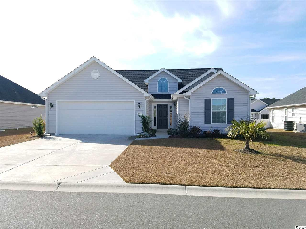 Wow, what a deal in Surfside Beach. Day after Christmas sale just in case Santa forgot about you. This immaculate home was newly built in 2017 and still has that new home smell. Open floor plan with 3 bedrooms and 2 full bathrooms. Fully enclosed Carolina Room. Complete fenced back yard with tons of room for outdoor parties or just relaxing with the family. This home is a very short Golf Cart ride to Surfside Beach , which, has more Golf Cart parking accesses than cars. Mallard Landing Village features state-of-the-art development regulations. Great price for a nearly brand new home in an affordable beach location.