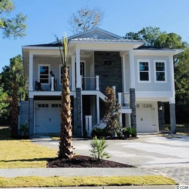 Brand New Gated Development In Cherry Grove Beach!!! - 100 year old live oak trees throughout - 1/4 mile of marsh front - Less than a mile to beach (walk or golf cart back and forth) -Natural Gas Community - Cherry Grove Beach voted #1 beach in SC and #11 in United States - Nature and walking trail around green space with lighted walkways  - Clubhouse and pool overlooking the marsh with meeting room, fireplace, full kitchen, workout center, pool, marsh walk, and sunrise gazebo-private kayak launch for residents-gated community.  HOA INCLUDES LAWN MAINTENANCE.