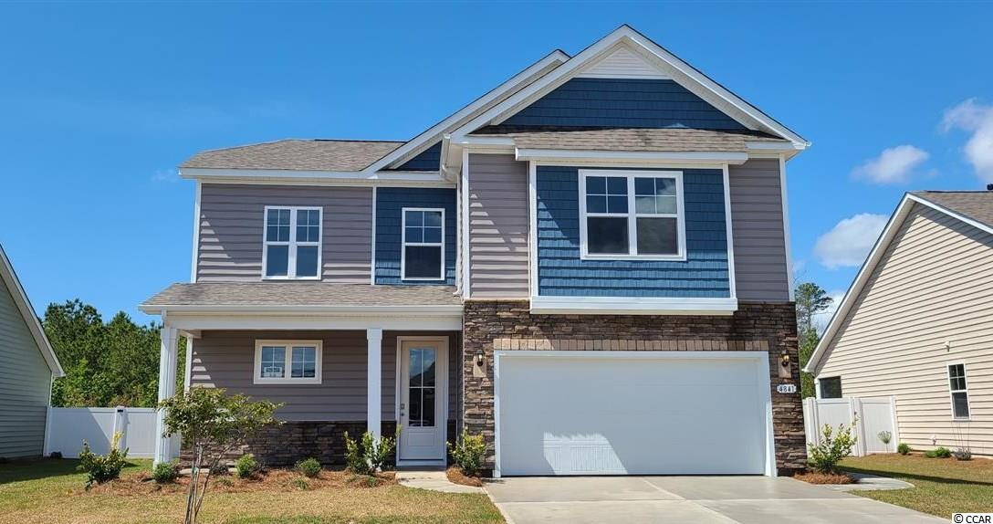 Belfort Elevation C  Photos and virtual tour are of a similar finished home or model home.