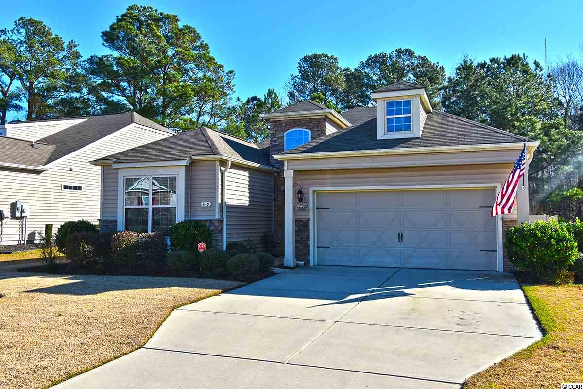 Have you been looking for a home that shows like a model in a warm and inviting community close to all the Grand Strand and Murrells Inlet have to offer such as 100 world class golf courses, the Seafood capital of SC, dining and entertaining along the Marsh Walk, white sandy beaches along the Atlantic, boat ramps galore for anglers and boating, and first class high tech medical facilities?  If so, this home checks all the boxes and then some with the features on your wish list that aren't always easy to find that make a home extremely comfortable and easy to live in.   Upon entering the home you will be welcomed by a grand foyer and 10 foot ceilings that give the home a roomy and luxurious feel.  The home has new, custom hardwood flooring throughout, a master bedroom with ensuite master bath with two separate vanities, separate shower and garden tub, water closet and large walk in closet.  The huge, all season Carolina Room overlooks the overisized custom patio, separate grilling area with its own gas line, and fully fenced back yard perfect for relaxing or entertaining.  The yard is a beautifully landscaped sanctuary with irrigation system for easy maintenance and the lot extends beyond the fence which backs up to a natural conservation area and natural pond allowing for an extended garden and peaceful retreat.   The kitchen is an entertainer's delight with plenty of room for more than one cook! The well-appointed kitchen has an abundance of storage, including a pantry and plenty of counter space complete with granite counter tops and glass tile back splash, custom moldings, and vaulted ceilings giving it an extra spacious feel. There is an eat-in bar for informal dining and plenty of room for a large dining table in the dining area for inside entertaining.  As you enter from the two car garage, you will come through the surprisingly large laundry room just off the kitchen, with plenty of room for laundry, extra storage, an office area or whatever your lifestyle di