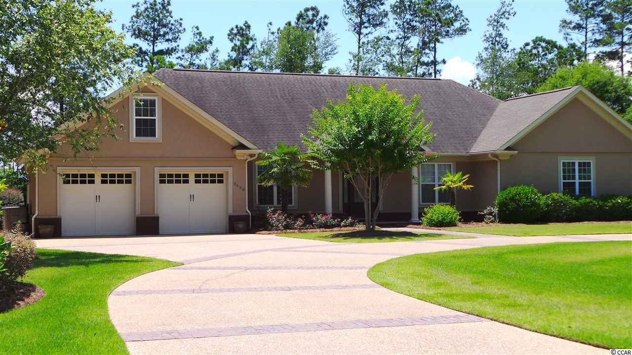 """BEAUTIFUL, CUSTOM-BUILT 4 BR, 4BA TRADITIONAL-STYLE HOME located in the quiet community of Eagle Nest Estates in Little River.  NO HOA. This neighborhood is tucked away from the hustle and bustle of tourist traffic, only a few miles from the North Myrtle Beach coast and just minutes away from shopping, dining, entertainment and area attractions. This custom home boasts many great features with an open concept floor plan, single and double tray 9'-12' ceilings, acid-stained concrete floors, whole house radiant heat flooring, arched doorways, energy efficient 12"""" ICF exterior walls, and SO MUCH MORE!  The spacious living room is located in the heart of this beautiful home.  The gourmet kitchen is a cook's dream with an oversized concrete kitchen island, large built-in breakfast bar, custom cabinetry, stainless steel appliances and walk-in pantry.  The master suite has two spacious closets, a whirlpool tub, separate water closet and walk-in shower.  Walk-in closets located in each bedroom.  A bonus room above the garage is a perfect space for exercise equipment, office or play room.  This home has a convenient full-size separate laundry room.  The finished, oversized two-car garage has two separate automatic garage doors, utility sink and storage closet.  The outdoor living space, including a salt-water pool, covered porch and enclosed back yard is perfect for entertaining family and friends and makes this yard stand out above all the rest.  So many CUSTOM FEATURES to this lovely home that you just need to come and see this amazing property!  Be sure to ask for the list of all special features in associated documents, too many to list here. THIS COULD BE YOUR FOREVER HOME!"""