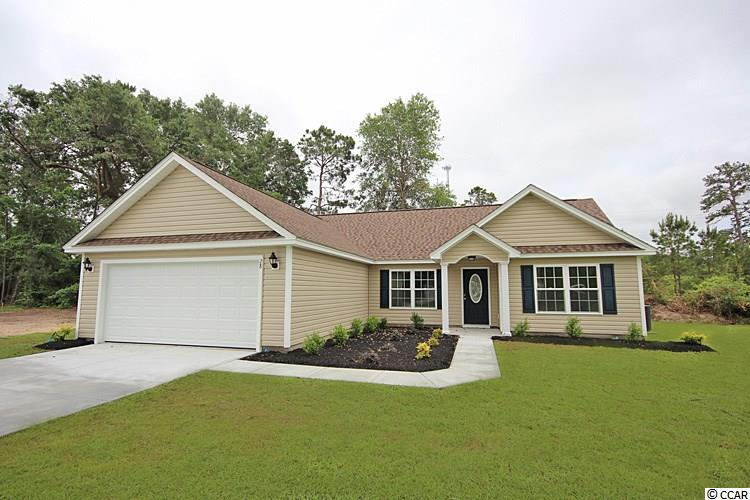 MOVE IN READY - This most popular Palace plan featuring 3 spacious bedrooms and two full baths is located on a spacious, beautiful 1/2 acre lot and is located in beautiful Yauhannah Landing.  Yauhannah Landing is a gated community featuring a private boat landing and beautiful 1/2 acre lots that are surrounded by a gorgeous wildlife refuge with mature trees.  Homeowners are permitted to park their RV's and/or Boats on their property as long as they have them on a concrete parking pad in the back of the home.   You won't want to miss out on living in this most beautiful neighborhood that is just approximately 16 minutes from the awesome City of Conway, SC and just approximately 26 minutes from the historical City of Georgetown, SC and just about 45 minutes from the beach!  It doesn't get any better than this!  Make an appointment to see this home and make it yours!
