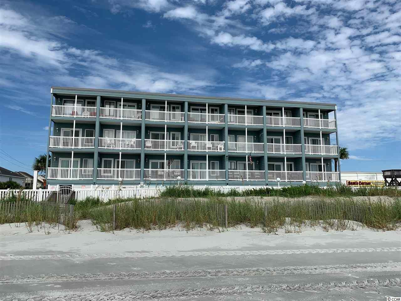 This wonderful OCEAN FRONT property offers an elegant living and a relaxing balcony for you to enjoy the fantastic ocean views and the beach. Have your tea or coffee in the morning watching the sunrise and the dolphins going by or just go out and lay down in the sun on the gorgeous South Carolina sandy beach. This beautiful condo offers a spacious living room and has a new HVAC system, new granite counter tops, and can accommodate several people for a very nice and enjoyable vacation. The condo is steps to attractions, sandy beach, pool, fishing, shopping and restaurants so you don't need to worry about driving if you don't want to. It's all about the beach and the views! This will not last so don't miss it!