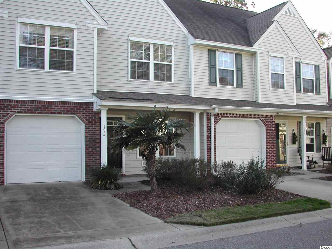 Furnished 2 bedroom, 2 1/2 bath, townhome in great location, centrally located in Pawleys , close to shops, restaurants and numerous golf courses. Large loft for office or guests, private patio area, and garage. This is a one owner, and used as a second home, never rented, community pool, and overflow parking across the street. Schedule appointment to show as unit is occupied thru 1/19th...