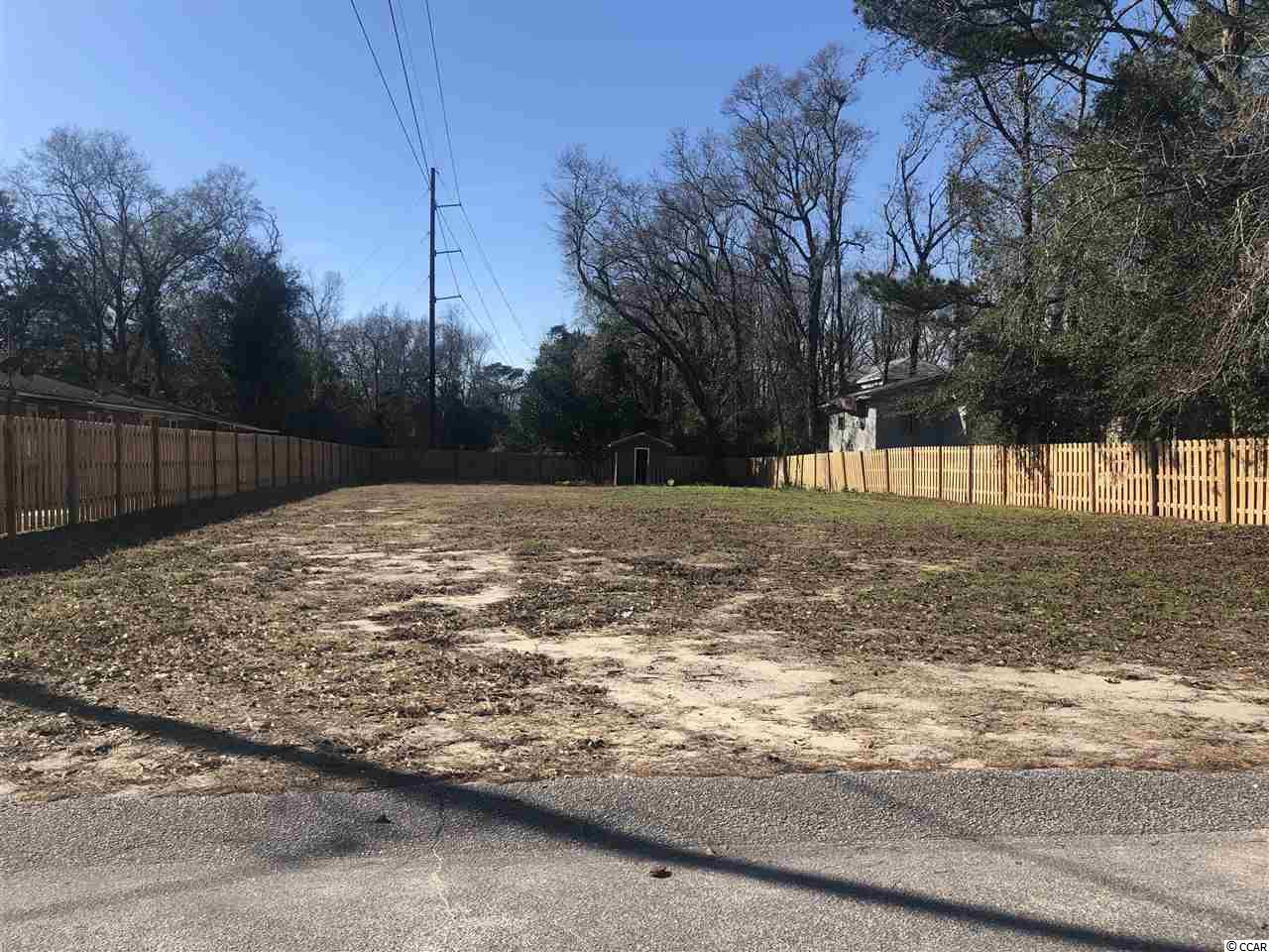 Residential cleared lot that is ready to build on!  Don't miss out on your chance to build your dream home in the Pinewood Acres community.  No HOA fees in this highly sought after neighborhood!  No time frame to build and you can choose your own builder!  Centrally located to all N. Myrtle Beach has to offer!