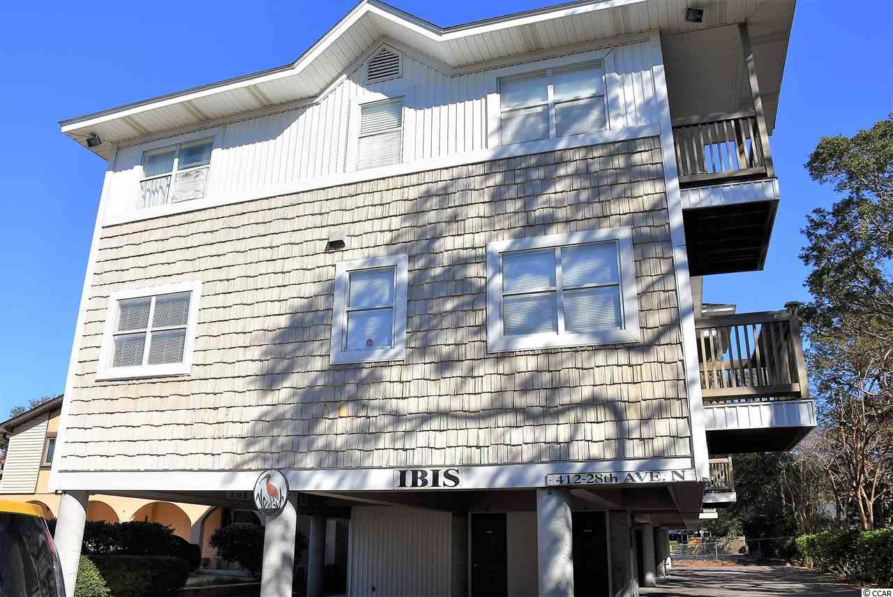 The IBIS is located on 28th Ave N between Kings Highway (Business 17) and the Cameron Beach Access. This furnished 2 bedroom 2 bath unit is located on the first floor and just a  2 1/2 minute walk to the beach. The unit has been nicely updated with stainless steel appliances, laminate flooring and smartly furnished in a soothing beach motif. The unit sleeps 6 persons comfortably and would make a great Vacation Rental Property . IBIS has one of the lowest HOA payments in the area, and is right in the middle of Myrtle Beach's finest restaurants and shopping as well as just accross the street from the Ocean! This unit will make a nice vacation home or could be used as a rental for additional income. Come and see what this cute unit has to offer.