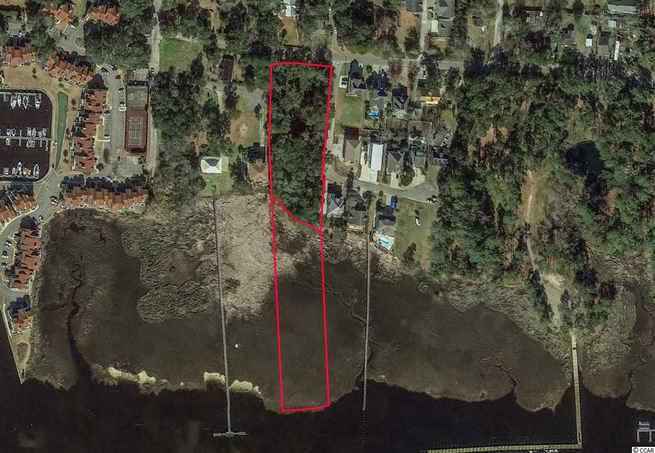 Rare and exclusive opportunity to purchase 3.8 Acres of waterfront property on the ICW in the heart of Little River, SC. This offering includes two (2) parcels being sold together. The first parcel is a 1.7 Acre wooded lot (PIN: 31109010023) that sits on the corner of Watson Avenue & Salt Marsh Trail. The second parcel is 2.1 Acres (PIN: 31109010015) of Marsh between the upland shoreline and the Intracoastal Waterway. The upland 1.7 Acre wooded lot is currently zoned (RC) Resort Commercial. Permitted uses include: Residential (single-family homes, duplexes, multi-family) Hotels, Motels, Condominiums, Marinas & more.  Breathtaking views, low Horry County property taxes & only minutes by boat to the Atlantic Ocean.