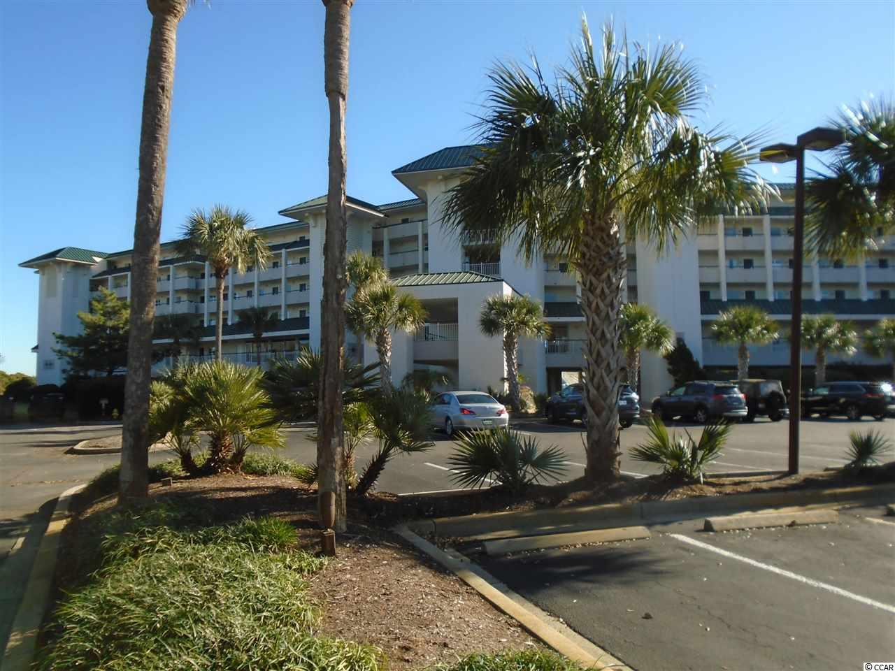 Stunning views of the Atlantic Ocean from balcony of this condo.  Many upgrades, granite kitchen countertops, new flooring, indirect lighting in kitchen and bath, king size bed.  Established rental program.  Enjoy indoor pool, hot tub, large outdoor pool, lazy river and easy beach access.  Don't miss seeing this one!