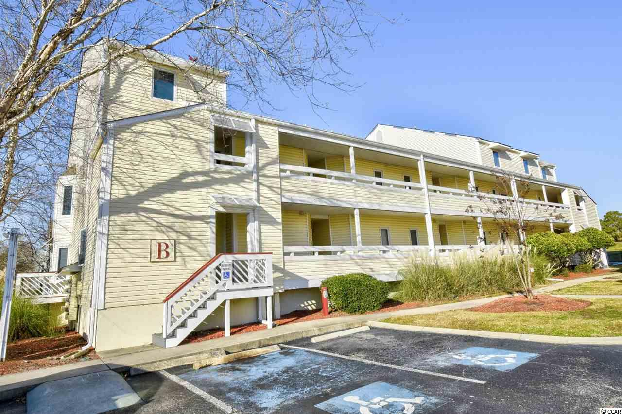 Located in the NMB Golf & Tennis community, this 1 bed, 1.5 bath unit features a large, screened balcony with views of the golf course & tennis courts & a new HVAC that was installed in 2018. The bedroom is spacious and has ample closet space.  Community amenities include a clubhouse, pool, tennis courts & grill area. Conveniently located to dining & entertainment, shopping, area attractions, golf, a Recreation Center and the beach is only a couple minutes away!  Schedule your showing today!