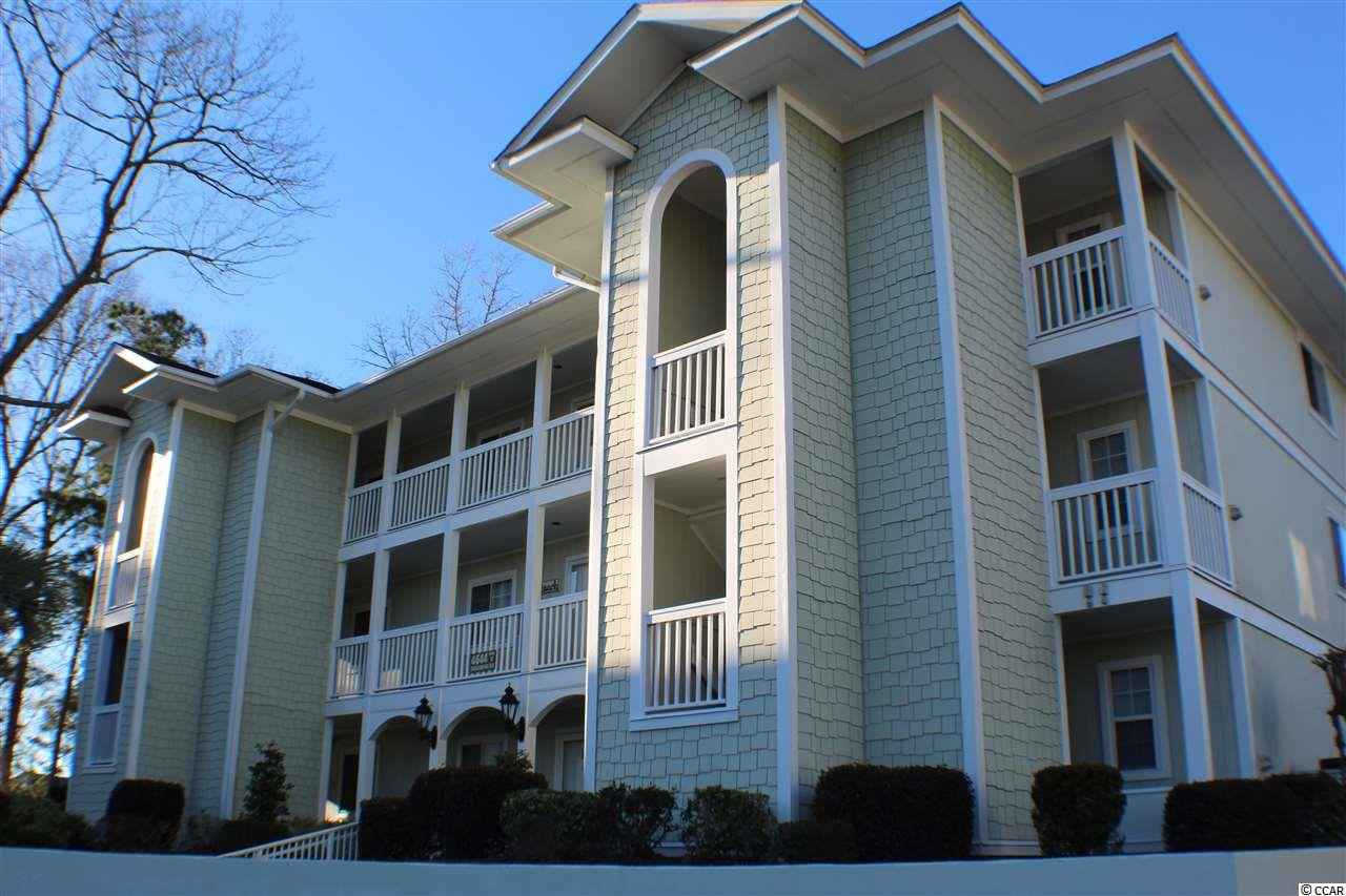 Enjoy this meticulously maintained two bedroom two bath second floor corner unit directly overlooking the 5th hole of the premier Eastport golf course. The extra windows let in a lot of natural light and show off the gorgeous views of the Intracoastal Waterway in the distance. The property boasts an open kitchen with plenty of storage and cabinet space, spacious bedrooms with nice closets, wonderful floor plan perfect for enjoying friends and family and a spacious screened in porch situated in the midst of all the outside beauty capturing the best views in the neighborhood.  Located within a premier neighborhood of Eastport, Spinnaker Bay condos are tucked away in a truly perfect location among the nicest homes in the area.  Enjoy the peace and quiet lifestyle in the fishing village of Little River where all fun and entertainment are just right around the corner: known for its fresh seafood, deep sea fishing, jet skiing, kayaking and crabbing adventures, annual world Famous Blue Crab and River Shrimp Festivals this area is truly a seafood lovers' paradise. And if you enjoy the great outdoors you wouldn't want to miss the beautiful vineyards, the horseback riding and over 1500 feet of boardwalk overlooking the amazing marshes stretching out across the Vereen Botanical Gardens. For those looking for even more adventure check out the two world-class casino excursions available exclusively in this area of the Grand Strand.