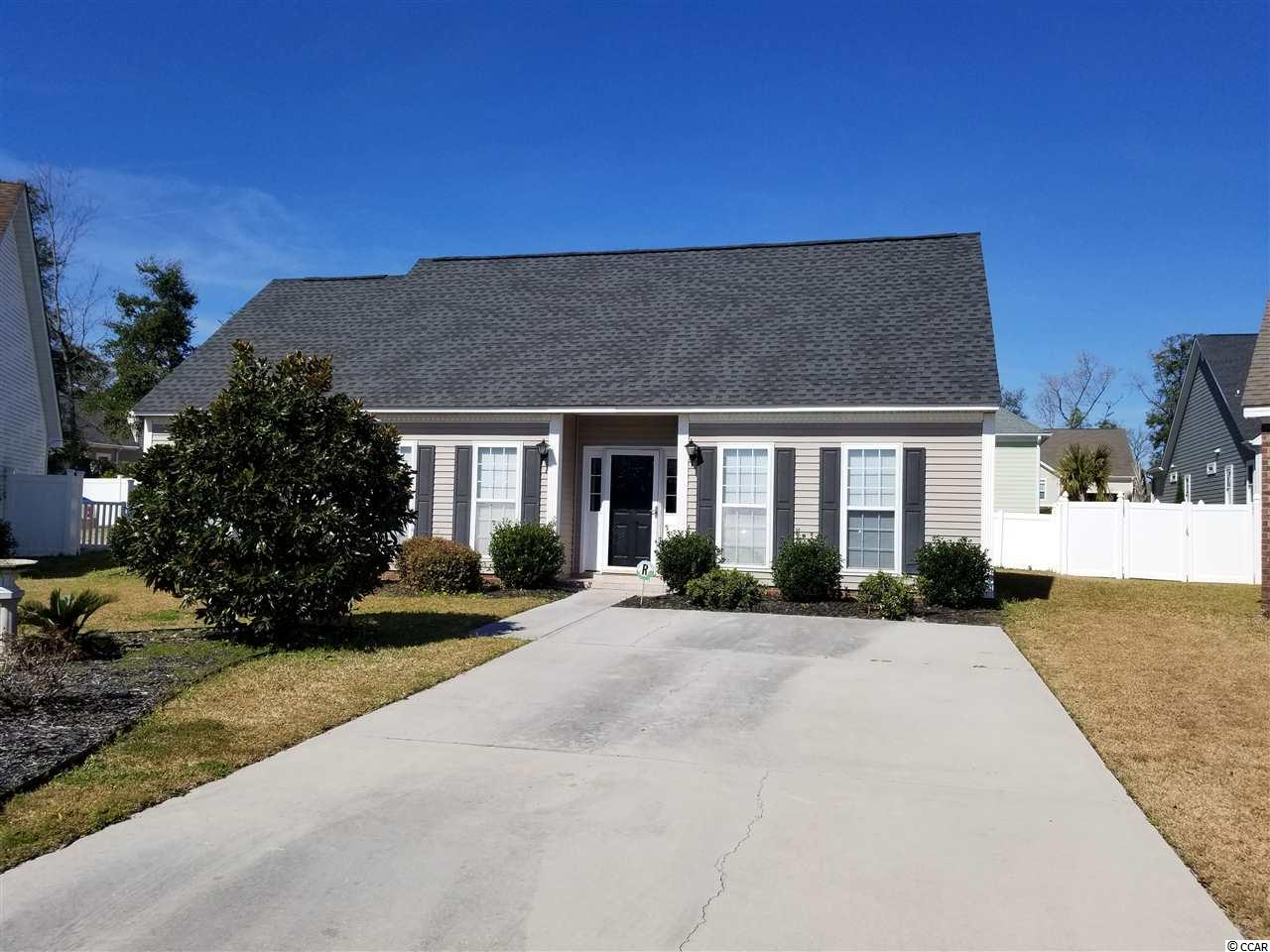 Location, Location, Location.  Great one-story ranch home in Washington's Walk subdivision, just a short golf cart ride to the beach, restaurants, grocery store and hardware store, in Cherry Grove section of North Myrtle Beach.  Three bedrooms, Two bathrooms.  The master has plenty of space and a large walk-in closet.  Master bath has shower and tub.  You will enjoy the open floor plan, with living, dining and kitchen in same spacious room.   New HVAC in 2018. Schedule your showing today, and be ready for spring and summer at the beach!