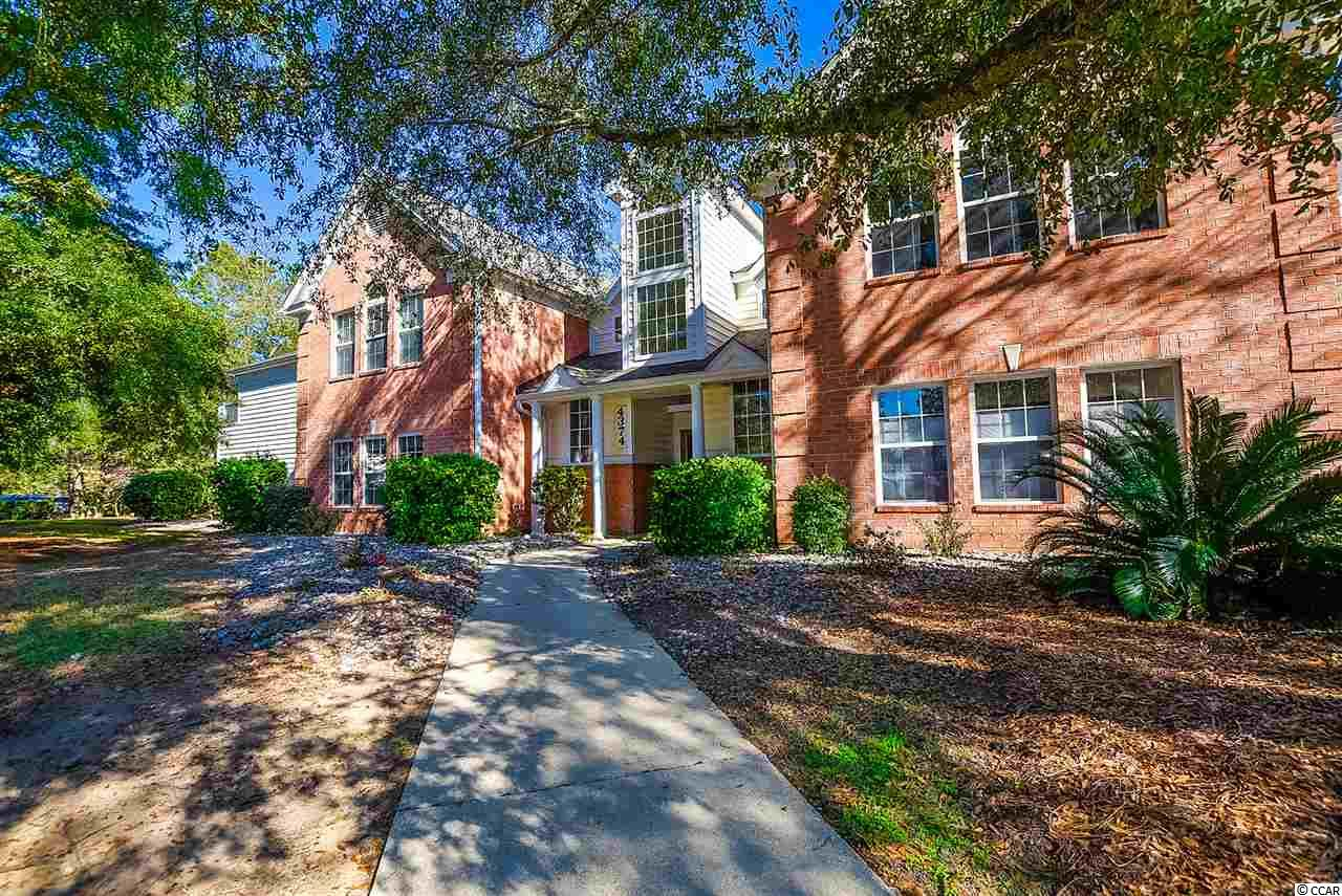RARE OPPORTUNITY to own a 4 bedroom 2 bath property in the Murrells Inlet community of Riverwood. This second floor condo is situated with a scenic wooded view allowing for lots of privacy. Never Rented but this would make an excellent rental property. New HVAC in 2015, New roof in 2019, Sold Fully Furnished and complete with washer and dryer. Master bedroom has 2 walk-in closets and large on-suite. Added storage in your carolina room/ den. Great open layout and hardly used by the owners. Community pool and tennis courts on site. Near the beach and Marsh Walk. Come and view this property today!