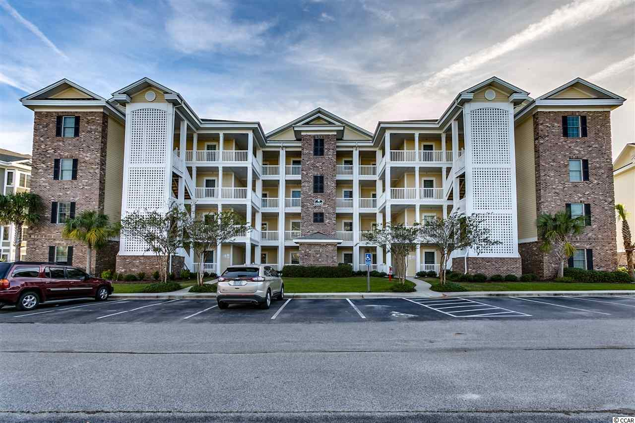 This top floor, 3br/2ba condo offers panoramic views of Myrtlewood's championship Pine Hills golf course.  Enjoy top floor living with vaulted ceilings and no one living above you.    From the moment you walk into this beautiful condo, you will know you are home.   There is a spacious kitchen with tons of cabinet and counter space, granite counters, stainless steel appliances, and a breakfast bar that comfortably seats four people.   If you prefer to have meals as a family, you won't find a condo that offers as much room as this one does in your dining area.    The oversized living room allows everyone to relax and spread out while taking in gorgeous golf course views.   As you enter the large master bedroom, you see an oversized walk-in closet, and also make sure you notice how you can lay in bed and look out of your bay window and see the golf course.   The master bathroom offers double sinks and a spacious tub and shower.    Both guest bedrooms provide plenty of space for your family and guests.   If you enjoy relaxing or dining outside, you will enjoy breathtaking views of the golf course in every direction from your private balcony.    Magnolia Pointe offers it's residents several pools, grills, and walking trails to enjoy.   You will be located less than five minutes to some of Myrtle Beach's best beach locations, Broadway at the Beach, and less than 15 minutes to the Myrtle Beach International Airport.      All of the best golf, dining, nightlife and shopping is conveniently located within a short drive of this awesome condo as well.    If you are looking for the perfect place to call home here at the beach, this is it( a few small items do not convey).  HVAC new in 2016