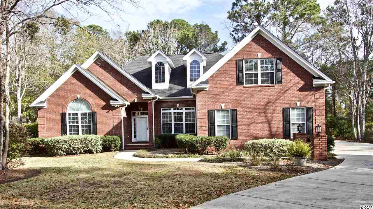 Welcome to this immaculate all brick 5 bedroom 3 bathroom home situated on the 9th hole of the Indigo Creek golf course. This spacious home features a formal living room, large guest room that could be used as a 2nd master, beautiful kitchen, large master suite, an office, utility room and 2nd living room. The upstairs features a loft area as well as a bonus room/ 5th bedroom and bathroom. This amazing home is located in the highly sought after neighborhood of Indigo Creek a well established neighborhood with access to a community pool, deeded golf course with reasonable rates and a clubhouse offering several social events for community members! Indigo Creek is near the Murrells Inlet Marshwalk, doctors offices, hospitals, all shopping, dining, beaches and attractions along the Grand Strand! Don't miss out on this home!