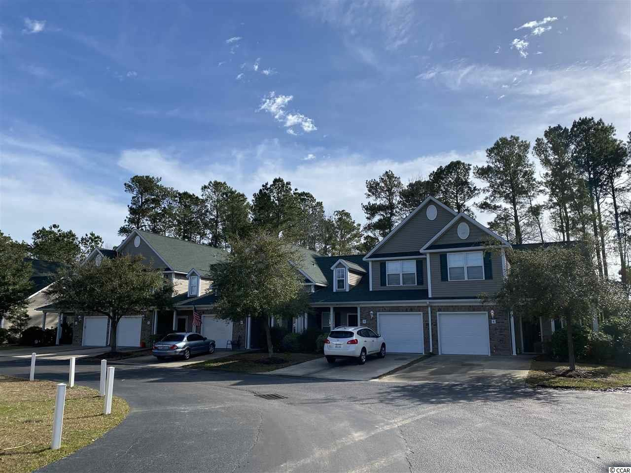 This 3 bedroom 2.5 bath Townhouse is located in a quiet neighborhood of Park West in Murrells Inlet.  The master bedroom is on the first floor and has a walk-in closet.  Kitchen is spacious with work island.  Other 2 bedrooms upstairs and a full bath.  One car garage attached.  Close to grocery store and restaurants.  Short drive to the beach, inlet attractions and airport.