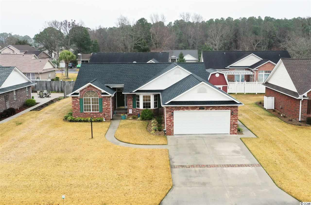 Beautiful and pristine all brick home located in the well known neighborhood of Royal Estates in Little River, SC. This home has a HOME GENERATOR!!! HUGE SHED! OPEN FLOOR PLAN! Royal Estates is estimated at 8 minutes away from shops, restaurants, golf, and entertainment North Myrtle Beach, SC has to offer. This home also has easy access to Highway 31, Highway 90, and the North Myrtle Beach Sports Complex. Buyers are responsible for all measurement verification.