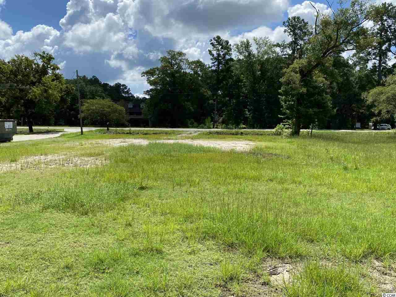 River lot on Waccamaw. Cleared and ready to build. Unique location provides prestigious views to the right and left. Bulkhead/Seawall installed. Public water and sewer available.