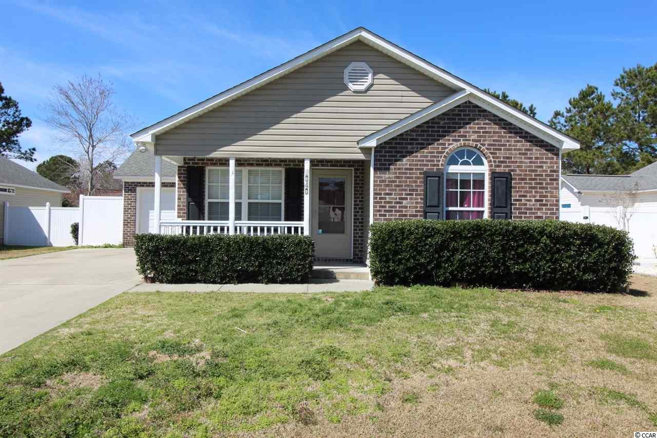 This 4BR/2BA home has a garage, Carolina Room and a fenced in backyard. The home is in a family friendly community close to St. James schools. New HVAC in December 2018. The interior walls have sound proof insulation. The house is pre-wired for an alarm system and a surround sound system. Extra wide driveway. The front of the house is brick with a covered front porch.  New water heater 2015. New dishwasher & dryer 2016. New built-in microwave 2017. Conveniently located close to retail, the Murrells Inlet Marshwalk, the Atlantic Ocean & all the amenities the South Strand has to offer.