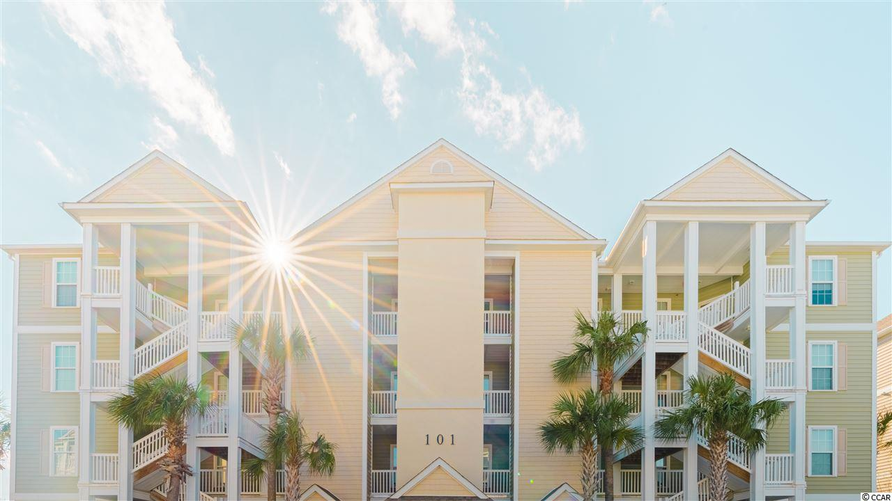End unit, lake view, across from Pool ... great location! Come see this immaculate 2nd floor condo with Elevator! Built in 2010 ... like new! Conveniently located off 17 Bypass and close to all stores and restaurants. Just a five minute drive to Market Common as well as Murrells inlet. Come see this one for yourself! All the bells and whistles, without the build process. New HVAC 2019!  All measurements are approximate and to be verified by buyer.