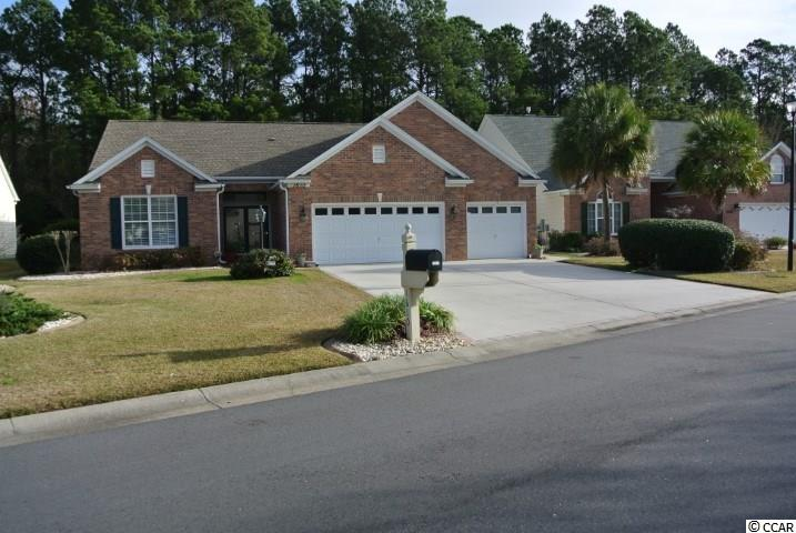 THREE Car Garage on Wooded Lot!!! One of the few 3 car garage homes in Indigo Creek!! This well maintained home is on a large Wooded lot.  The backyard allows much privacy with no BackYard neighbor. Painted with pleasant and soothing colors thru out. The home has been much loved and is in move in condition.  Home boasts large living Room, Bedrooms, Dining Room, Kitchen and Carolina Room. Kitchen has many cabinets with room to store all of your kitchen needs and Corian counter tops. This 3 bedroom, 2 bath home has the perfect layout for entertaining..  The windows have protective film and all blinds are free floating and included.  The fireplace in the Carolina Room is gas.  The gas line has also been added to the outdoor grill..  Never to drag a propane tank, again!  The 3 car garage is heated and air conditioned. Garage has a separate unit. Roof installed 2015. This home has it all and it is in Indigo Creek.  Indigo Creek is a Golf Course community with a low HOA, a community pool and a Bocce Ball court. Community is conveniently located close to the beach , shopping , other golf courses, restaurants, theaters, the airport and all Myrtle Beach amenities. Make an appointment to see this beautiful home..