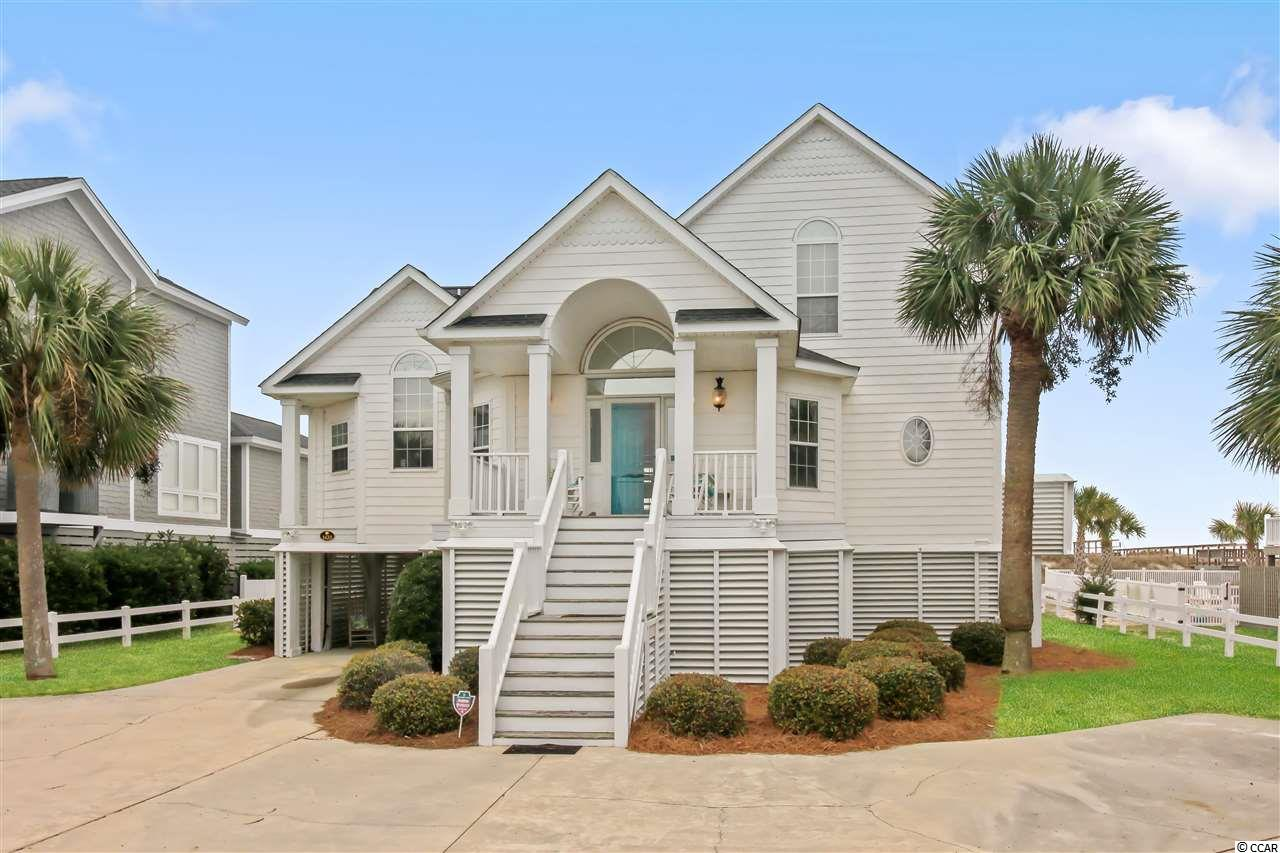 You have to see the inside of this home...Not your typical beach house...high ceilings, exposed beams, wide plank pine flooring, unique gathering areas...this beach house is made for family gatherings. Never rented by this owner so it hasn't suffered from over use. It has it all: pool, patio, elevator, 2 master bedrooms, great parking, screened porch, sun decks. And it comes fully furnished! It is available for you to see at your convenience!