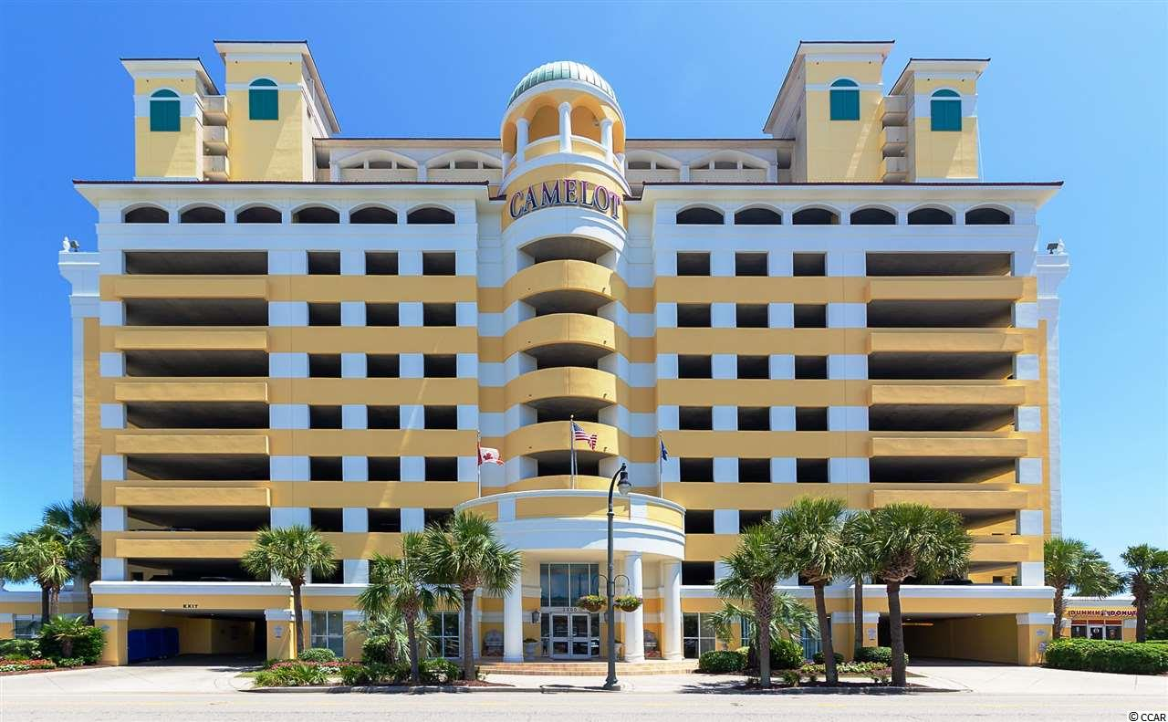 Must see this direct Oceanfront 2br/2ba 10th floor, totally furnished unit at Camelot by the Sea Resort. This great condo features nice furnishings, flat screen TV's, full kitchen, washer/dryer. From morning coffee sunrises to evening beverage of choice the sights and sounds from the oceanfront balcony are unmatched. All of the appliances including HVAC have recently been replaced. The unit has been recently painted and has brand new blackout drapes and curtains. Sleeper sofa and chair replaced October 2020. Camelot amenities include indoor/outdoor pools, indoor/outdoor hot tubs and kiddie pools, 200 FT Lazy River and state of the art fitness center. There is also an on site Dunkin Donuts and the attached garage allows you to park just outside your door.
