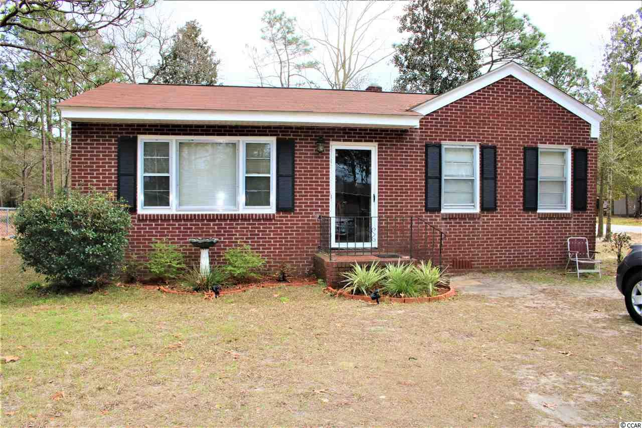 Well maintained 2 bed and 1 bath brick house on large corner lot. Hardwood floors and a fenced in back yard for pets.