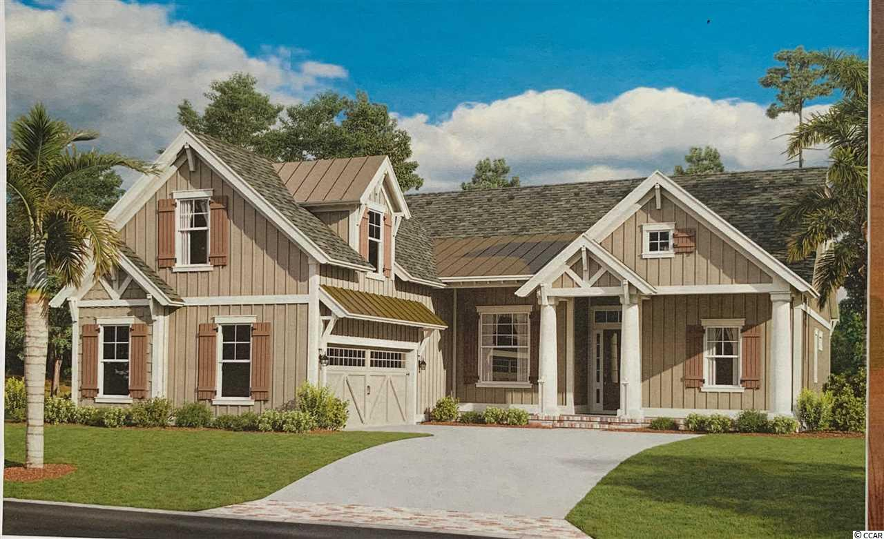 """Welcome to BEAUMONT PARK in Pawleys Island!  New development just minutes from the beach, restaurants, grocery stores and more. One acre home site with NO HOA.  Custom builder. This  Arrowwood home  plan s to be built with approx. 2082 Heated Square Feet with an """"optional bonus room that brings the total heated sqft to 2381. bonus room is not included in price. The price is base price of home and lot.   Contemporary craftsman style 3 bedroom,3 bath home with Hardie plank, shake, board & batten siding along with brick accenting exterior. An """"optional """" Bonus Room could be 4th bedroom. There is also an optional bath in bonus room. Bonus room is not included in listed price. This is an additional cost.  Two car attached garage.   A beautiful covered front porch and  a covered veranda to enjoy your morning coffee or afternoon cocktail with friends. This home has many amazing features such as 10 foot ceilings in the main living area,kitchen and foyer and covered veranda. 9 ft ceilings elsewhere  on first floor, and 8 ft ceilings on second floor, rounded sheet rock corners, crown molding in main living areas.  An open floor plan with a large great room, dining and breakfast nook. The  Master suite has tray ceilings and master bath boosts double vanities, garden tub,  tile shower and his/her walk in closets. A laundry room is also located on first floor. Beautiful interior with crown molding, tile floors throughout main living area, granite counter tops in kitchen and master bath, custom cabinets. The main living areas have tile flooring or hardwood flooring and bedrooms are carpet. The additional two bedrooms are a split bedroom floor plan and  guest bathroom has cultured marble counter tops and tile flooring. Come see this beautiful home and start living the Pawleys Island lifestyle! Photos may show features NOT included in base price. Optional upgrades available upon request. .Disclaimer: Storm water plan may change to gain use of undisturbed area at the back of each lo"""
