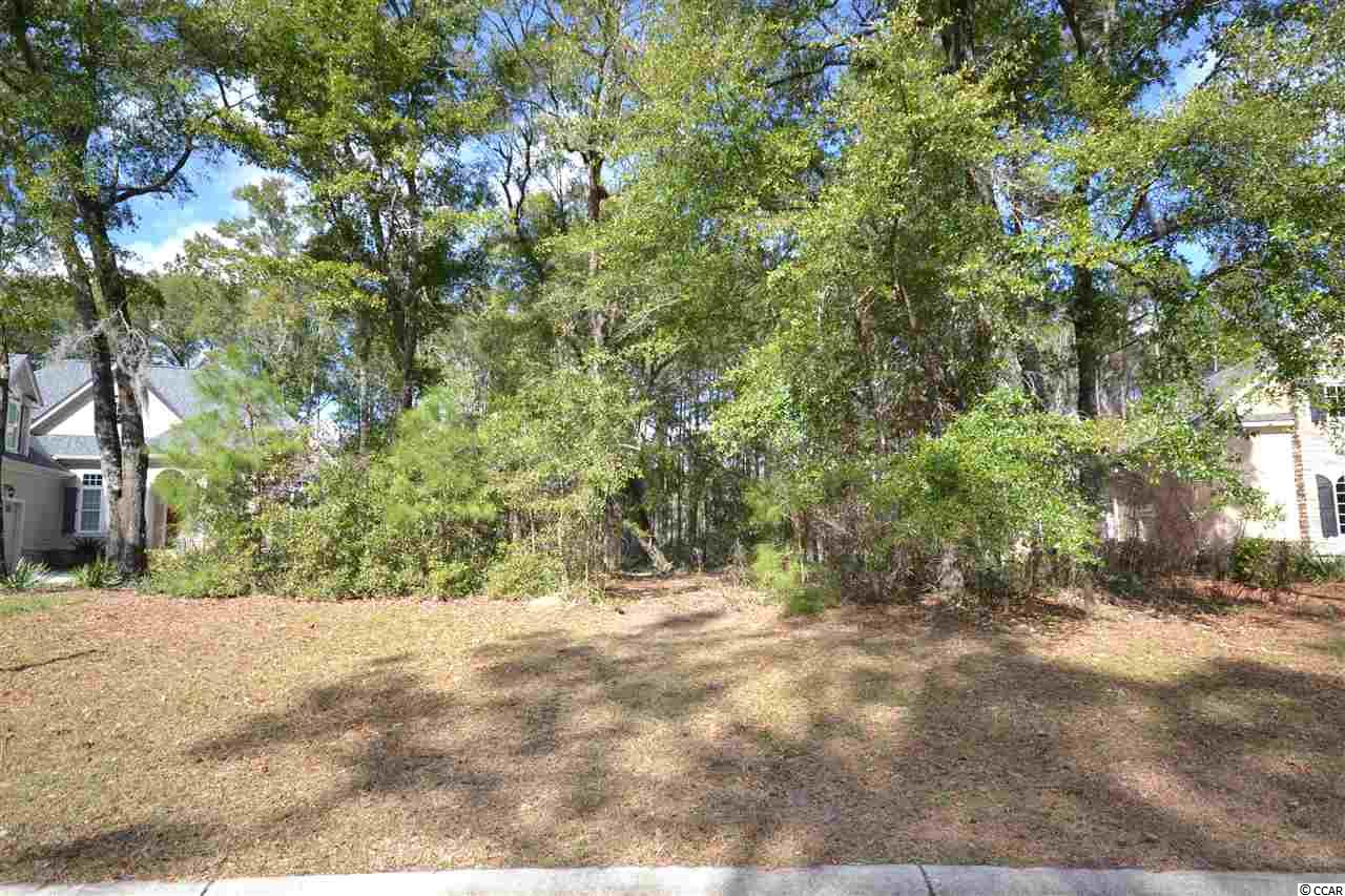Large wooded lot on Hunter Oak Court inside the gated community of The Reserve at Litchfield. Build your own custom home with no time frame to build in this established community. Reserve homeowners enjoy a golf course inside the gates, the Harbor Club Marina on the Intracoastal Waterway,and access to Litchfield by the Sea. Litchfield by the Sea has private beaches, beach club, miles of walking/biking trails, lighted tennis courts and fishing/crabbing piers. Litchfield is located just a 70 mile drive to spend the day in historic Charleston, SC or a 25 mile drive to the attractions of Myrtle Beach!