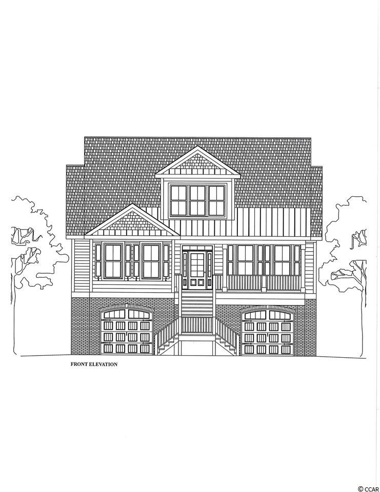 To be built home in Clubhouse Creek on the Inlet/Creek in Pawleys Island.  Only 10 home sites in community with 5 shared docks.  Definitely a piece of paradise!  Beautiful trees and easy access to Litchfield and Pawleys Creek.  Wonderful marsh views.  Floating dock offers fishing, crabbing, boating and kayaking.  Truly a hidden jewel.  Builder is Scott Mitchell with Quest Properties.