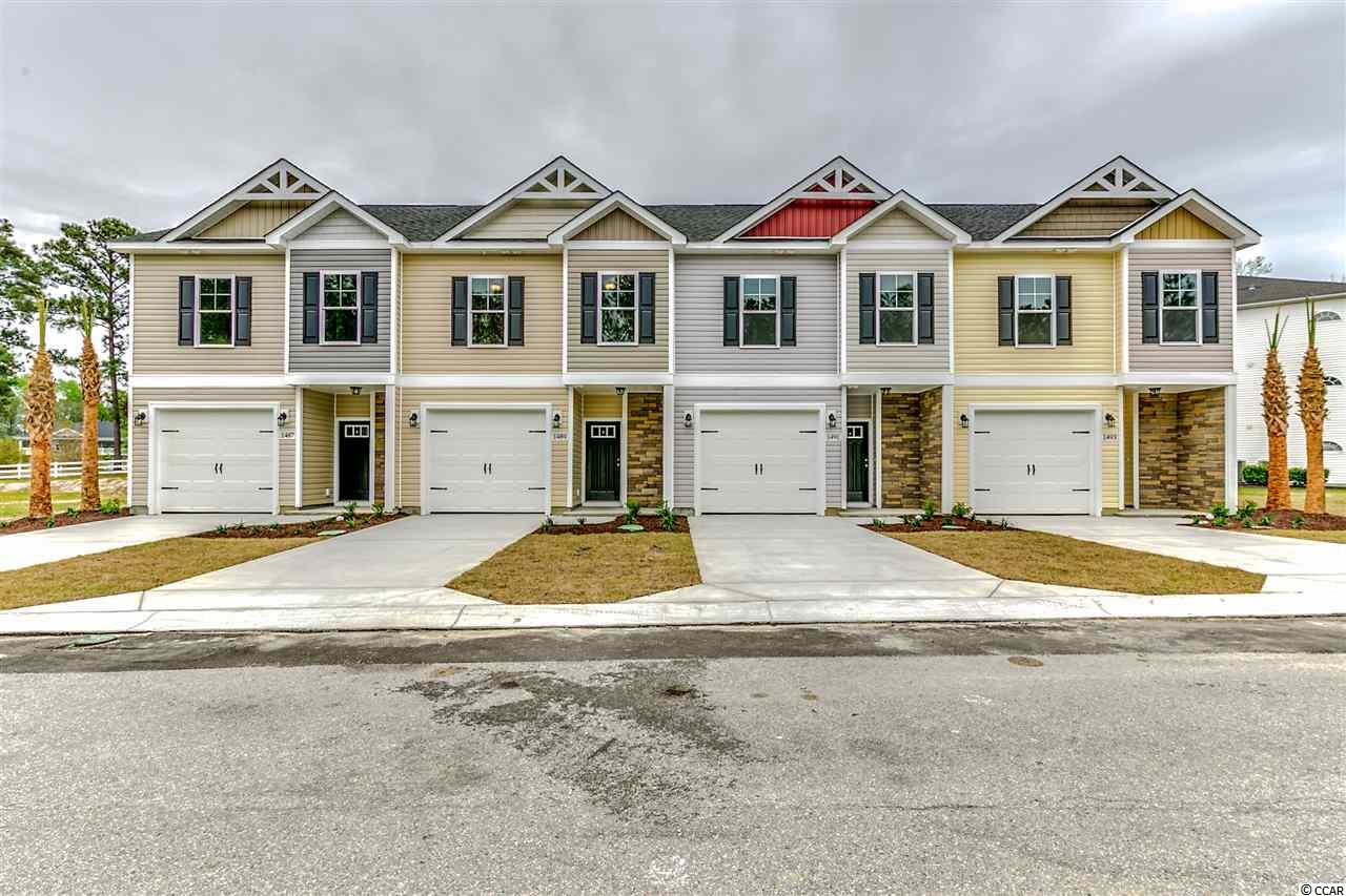 NEW CONSTRUCTION!! 3 bedroom/2.5 bath luxury townhouses with an attached 1 car garage. Located within the award winning Arrowhead golf course community. From the moment you pull up to the property you will be taken back by the character of the exterior. Once you enter the home, your eyes will be drawn to the luxury vinyl tile that covers the entire living area of the main floor. The kitchen and living area is open and filled with natural light. Custom crown molding provides both character and charm to the space. The kitchen is a chef's dream come true! With tons of granite countertop space, top of the line stainless steel appliances and an ample amount of cabinetry, all of your meals will be prepared with a smile. Master bedroom is fit for a king. Featuring a large walk in closet, an en suite bathroom with double sinks, large shower and garden tub. You can enjoy your morning coffee or a late night cocktail overlooking the golf course on either your private balcony or screened in porch. Riverwalk is located just minutes away from shopping, restaurants, entertainment, MB airport, golf and the Atlantic Ocean. Schedule your showings today!! Square footage in approximate and not guaranteed. Buyer is responsible for verification.