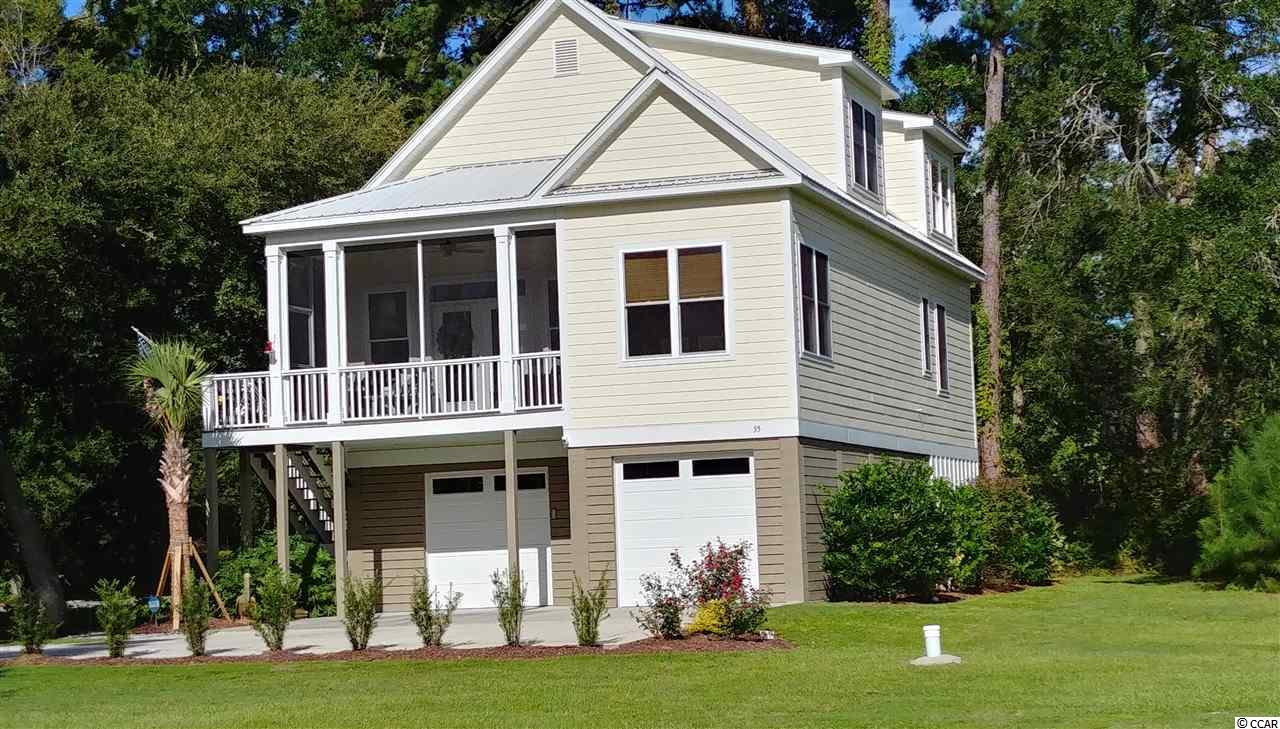 Motivated Sellers ...Turn Key 3 Bedroom 2 1/2 Bath, Raised Beach home with ELEVATOR to all floors installed 11/2018. Garage and interior stairway from garage were enclosed 11/2018. Home is 2x6 construction with 9' ceilings in living areas, double hung windows, 2 zone HVAC system with 2 compressors, 80 gal HWH. Interior walls freshly painted 11/2018. Front porch screened in 2019. Kitchen features new upgraded SS appliances 10/2018, granite counters, subway tile back splash, soft close cabinetry and under cabinet lighting. Garage features 170 sq ft storage/workshop with additional storage in 2 attic areas. Master bath features double sinks, soaking tub and separate shower. Custom window coverings convey. Home has metal roof and Hardie plank siding. New sod lawn installed 6/20. Security cameras do not convey.