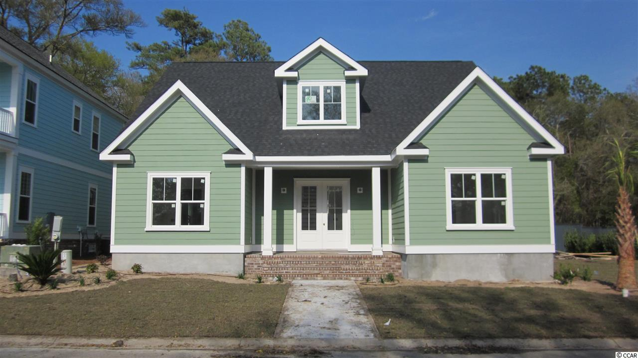 Located in beautiful Charleston Landing in North Myrtle Beach. This large 4 Br, 3bth, home is under construction. With many upgrades it will be a must see.
