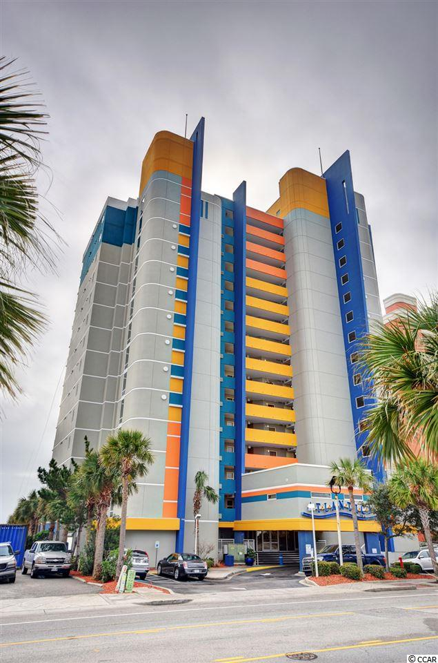 Excellent direct oceanfront two bed, two bath condo in the Atlantica Resort! This lovely unit offers incredible rental income opportunities, fantastic amenities, and outstanding ocean views! You'll love listening to the waves crash on your private balcony that you can access from the master bedroom or the living room. This comfortable condo offers a full kitchen with updated white appliances and even has a washer/dyer conveniently located in the unit! Everything is included with this fully furnished condo, so pack your bags and head to the beach! There's something for everything at this resort including indoor and outdoor pools, a hot tub, and a lazy river! Atlantica Resort is centrally located in Myrtle Beach near the airport, many attractions, restaurants, shopping, dining, and so many more fun activities along the Grand Strand. This is the opportunity you've been waiting for--schedule a showing today!