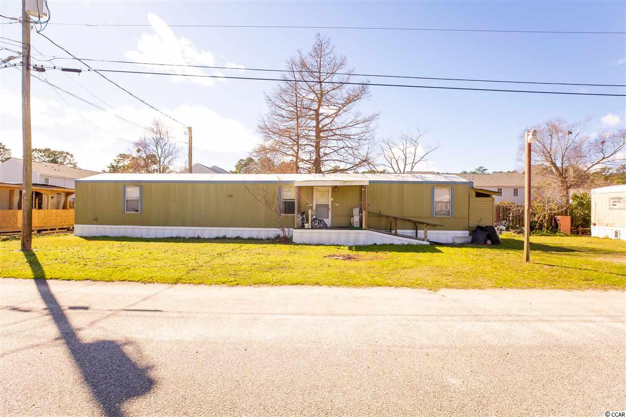 WOW!  You won't find a lower lot lease as close to the beach as this!  This single wide is a short bike ride or golf cart ride away from the beach as well as Food Lion Shopping center!  You're in the heart of Myrtle Beach with this location.  Only 10 homes in total on site.